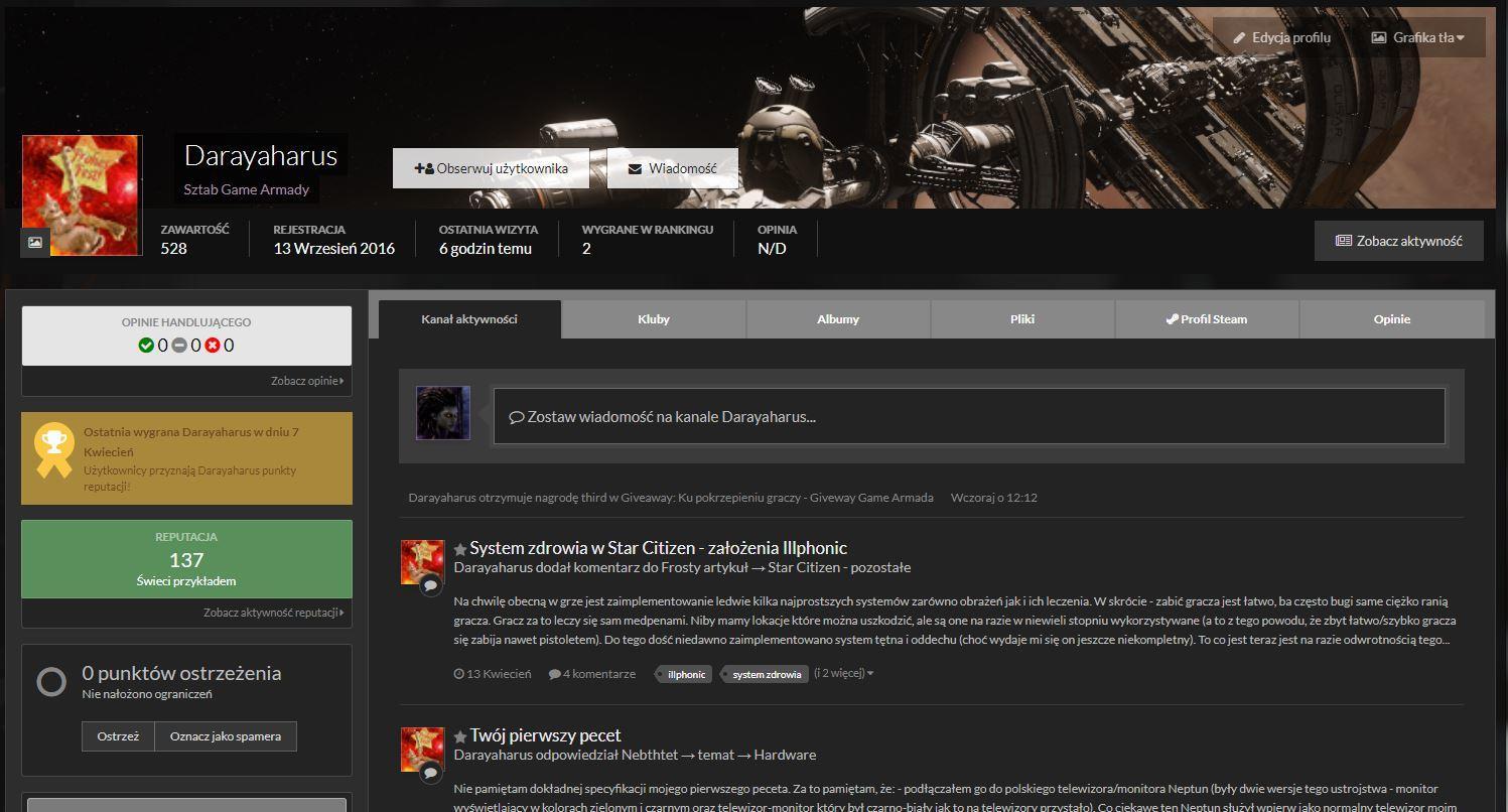 Game Armada ma nowego redaktora!