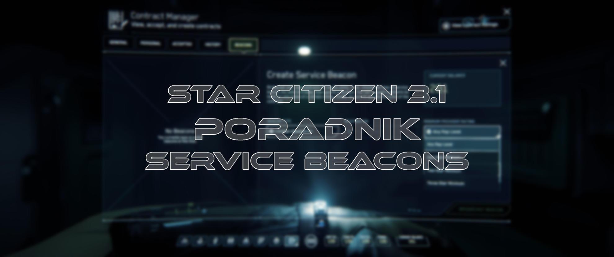Service Beacons - poradnik