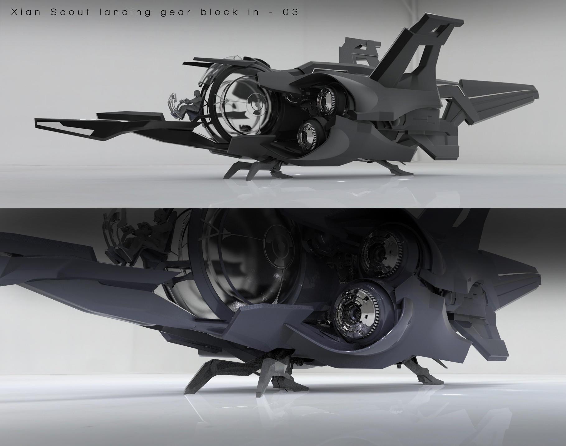 Xi'An Scout podwozie