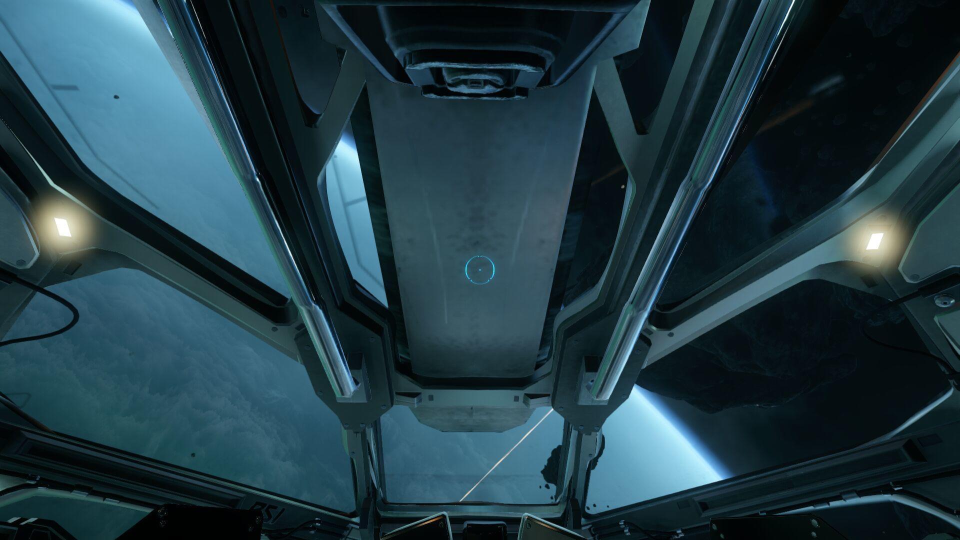 Wygląd wewnętrzny - kokpit - widok do góry