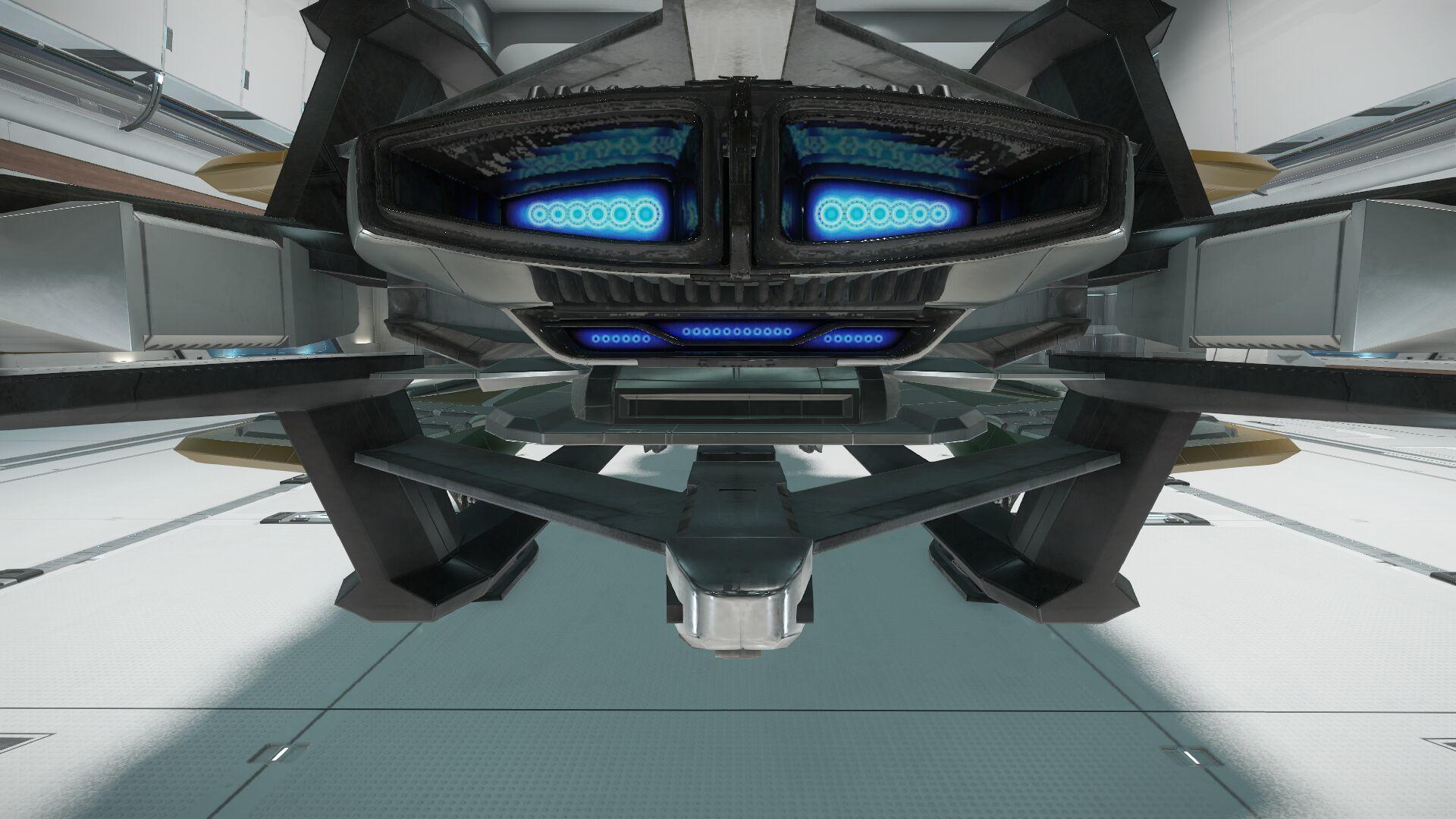 Wygląd zewnętrzny - silnik główny - widok z tyłu