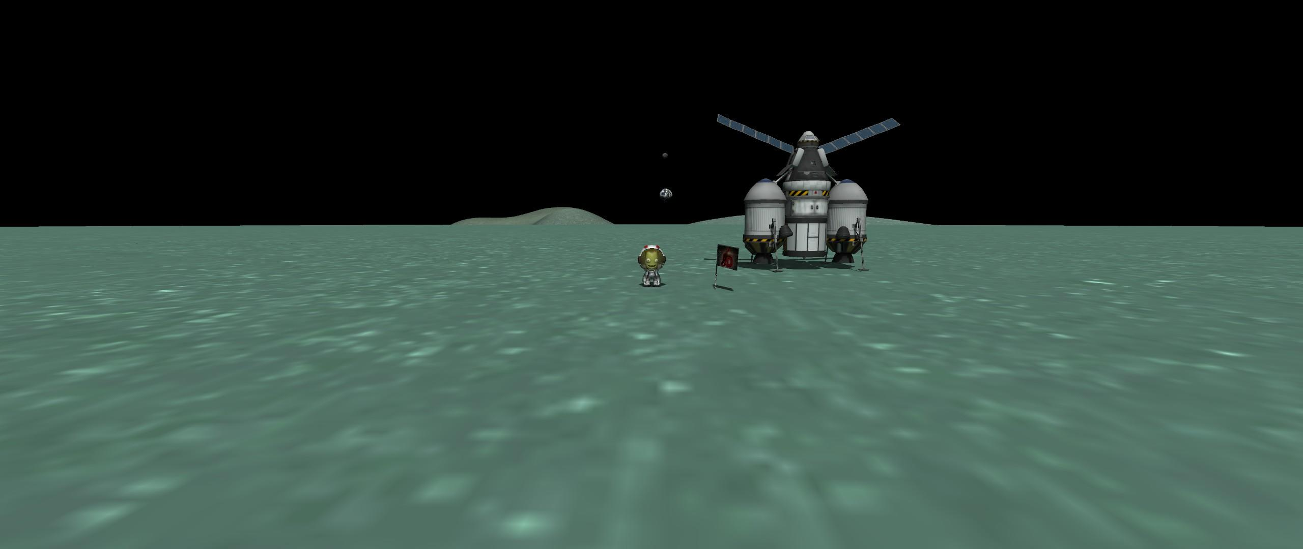 Kerbal Space Program AD Minmus