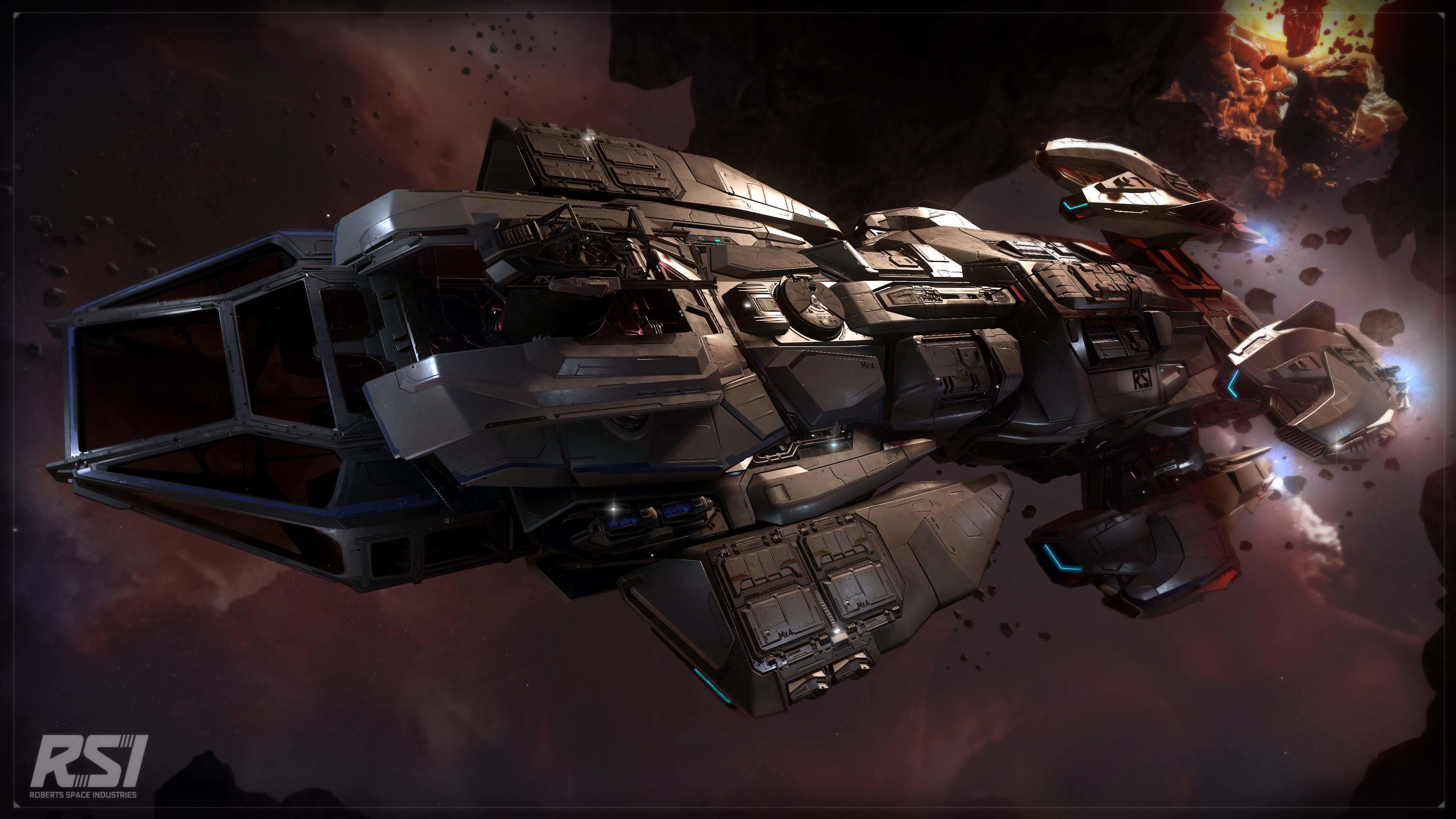 Andromeda MKIV w locie