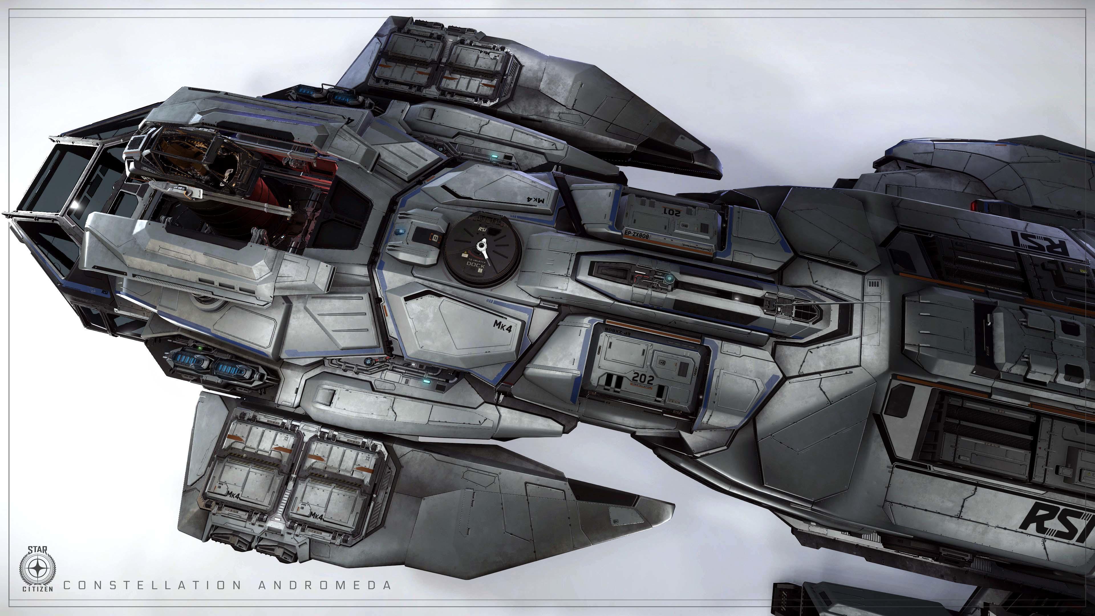 Andromeda MKIV rzut z góry