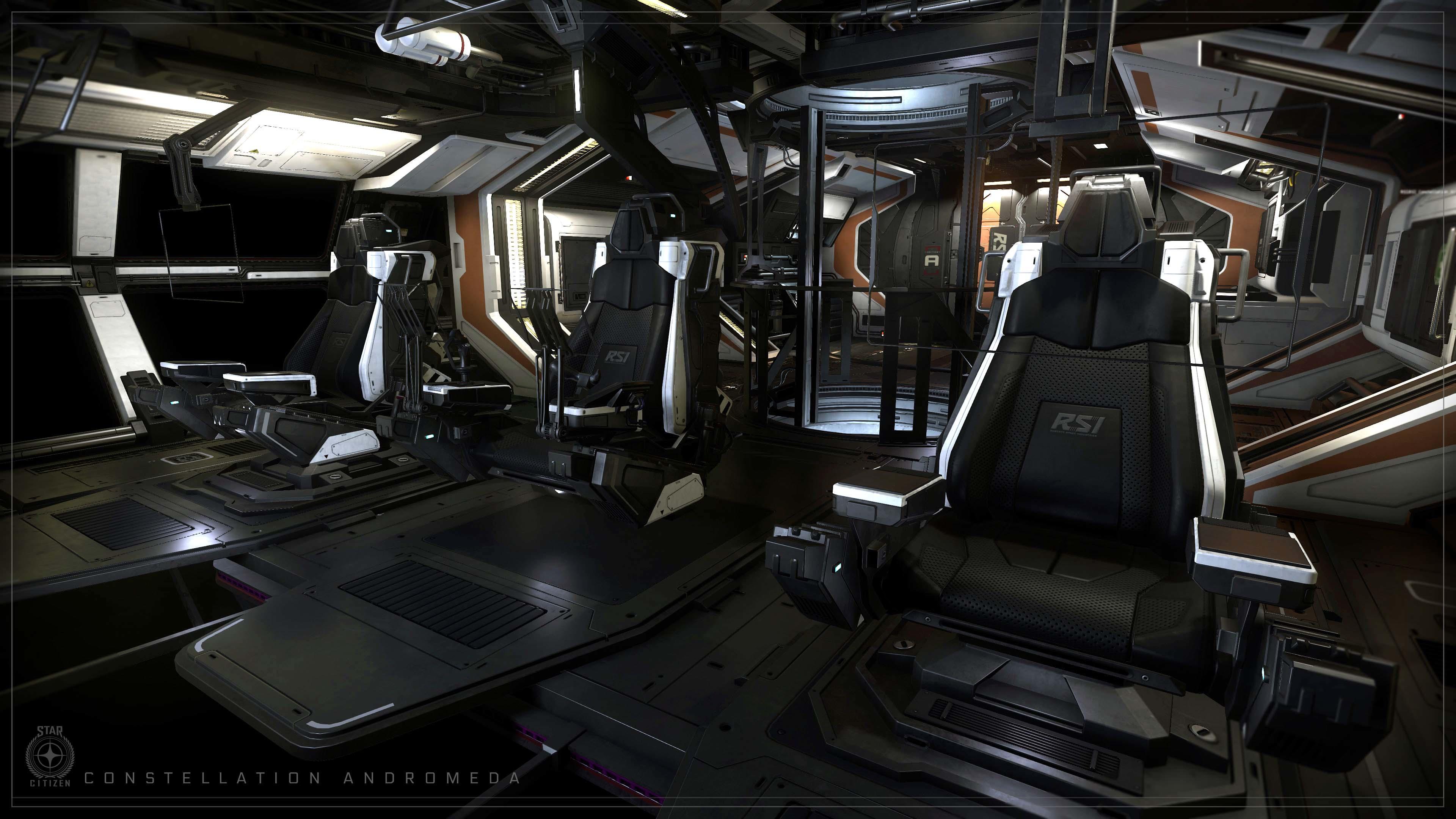 Andromeda MKIV fotele załogi