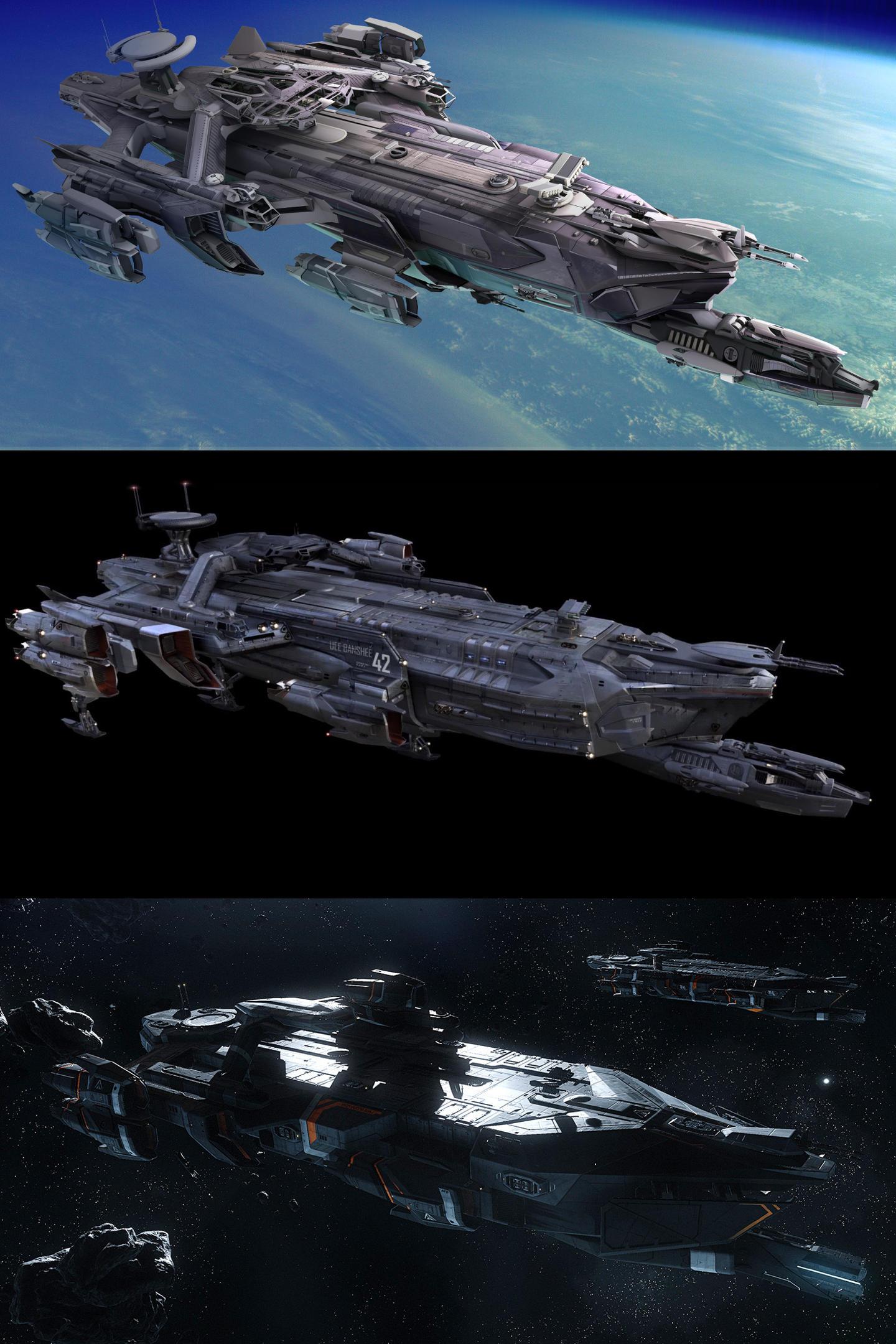 IDRIS ewolucja i zmiana wielkości statku