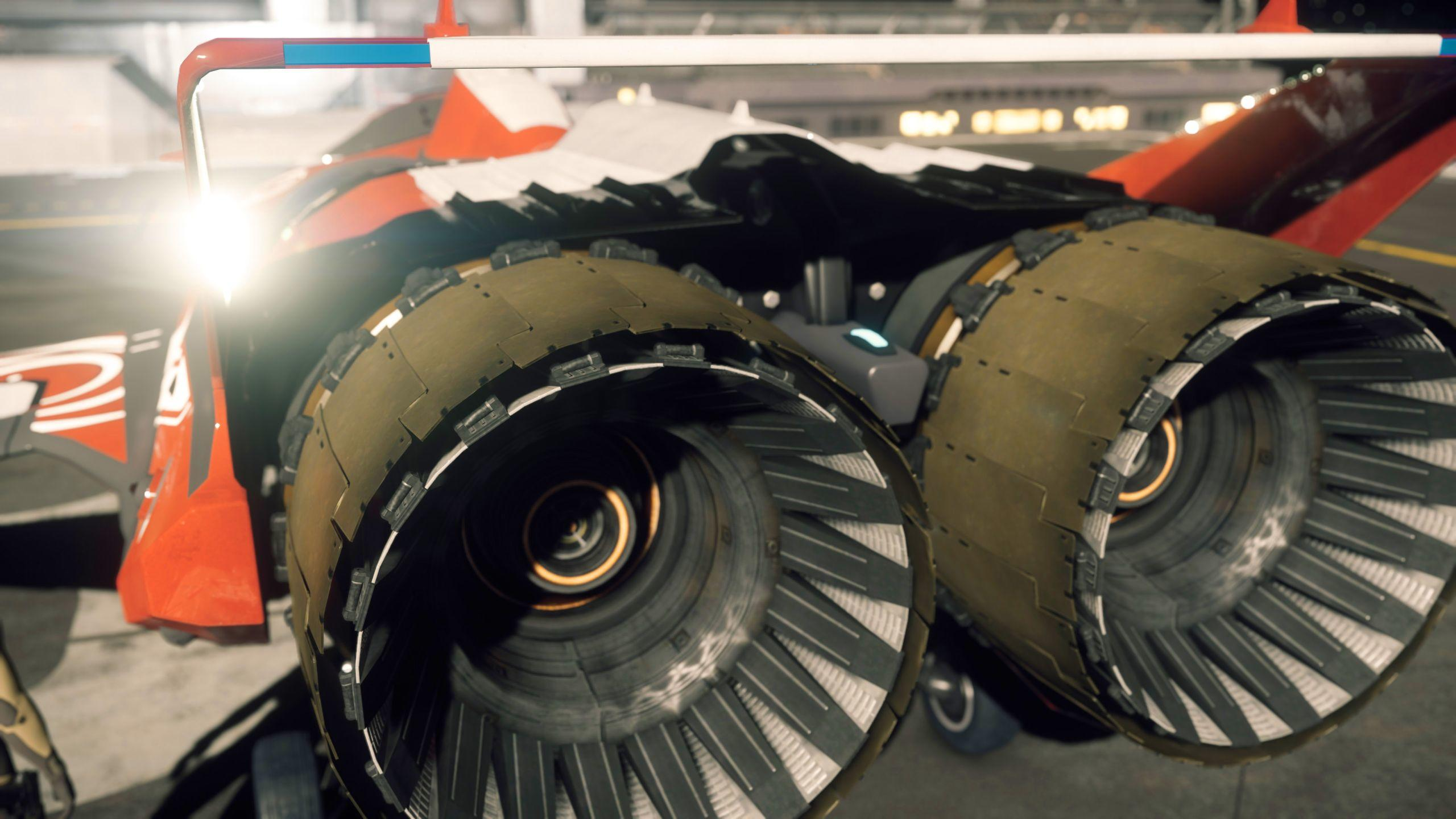 Origin M50 - silniki od tyłu