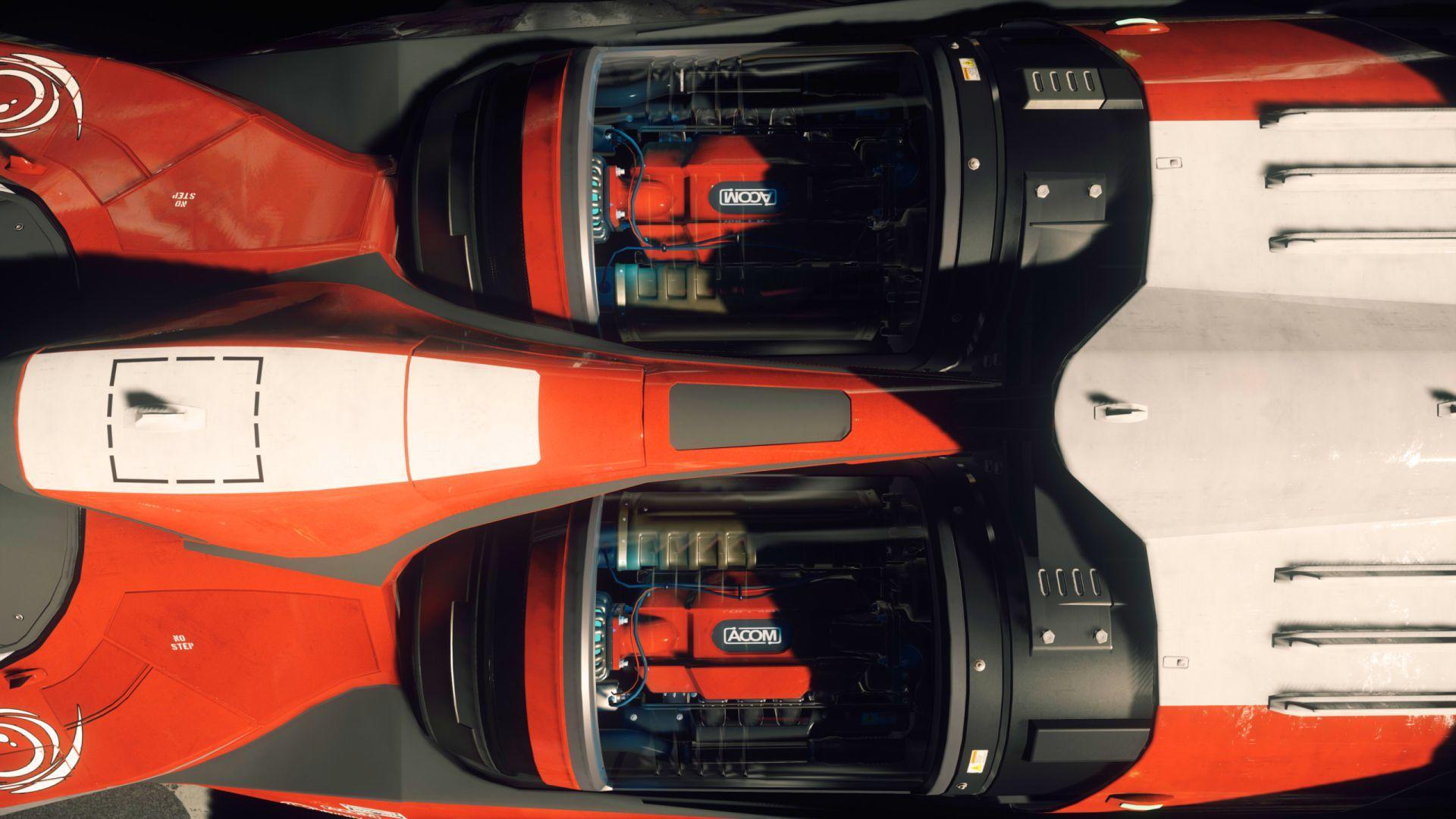 Origin M50 - silniki