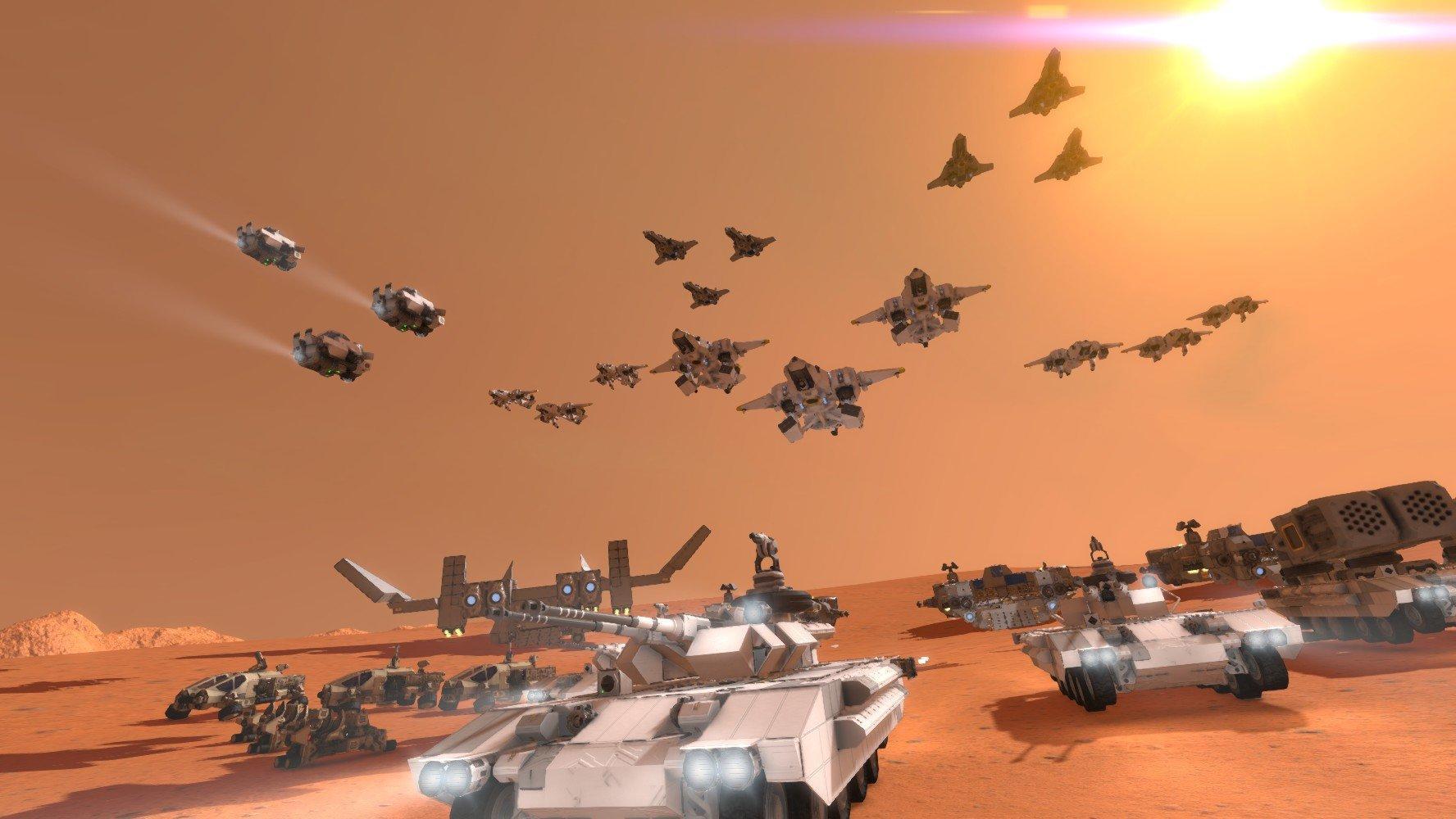 Space Engineers strike force