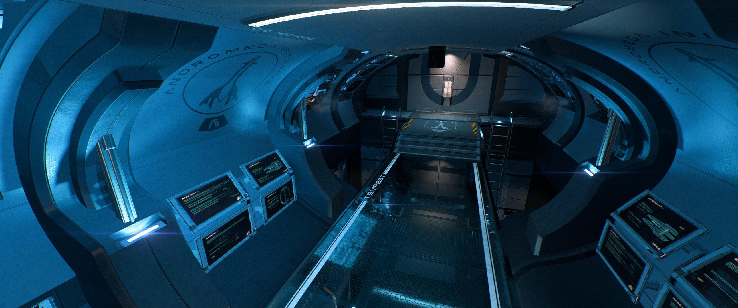 Mass Effect Andromeda - wnętrze Tempesta