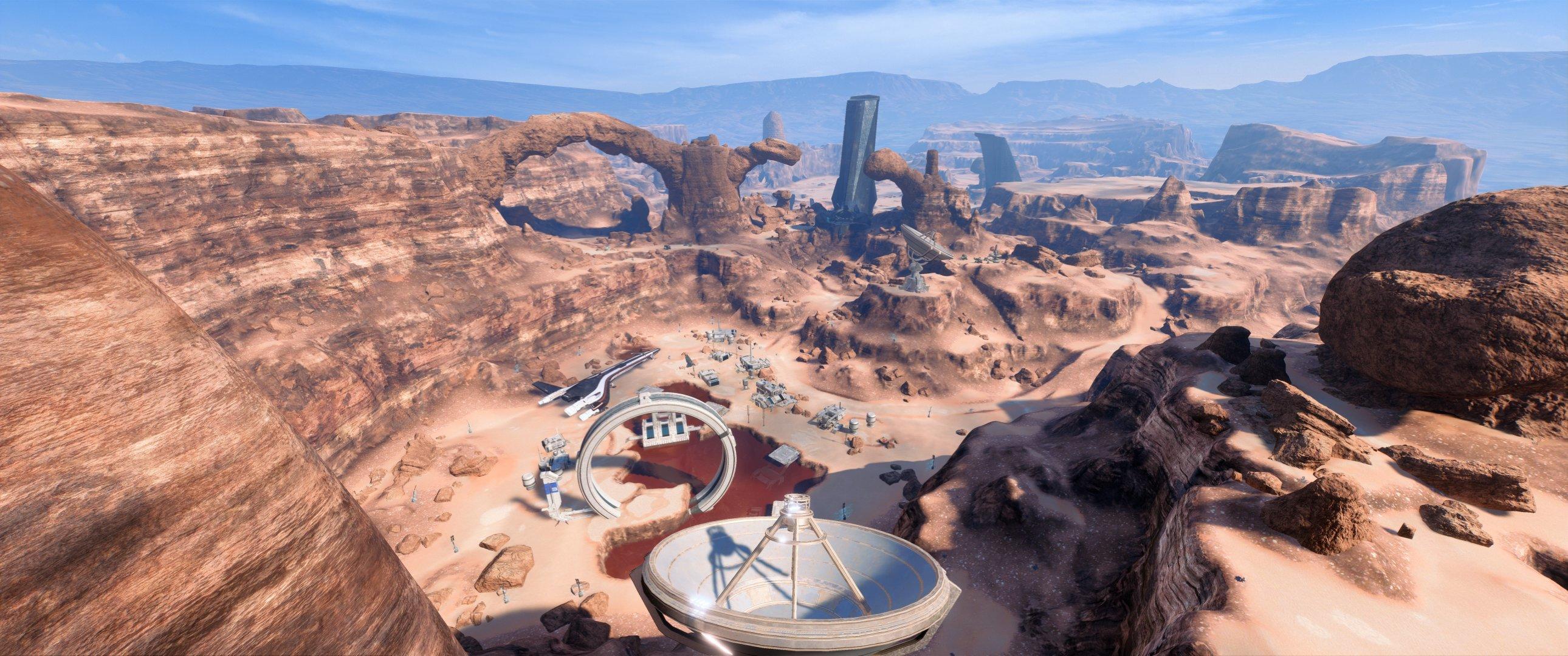 Mass Effect Andromeda - Eos, panorama Prodromos