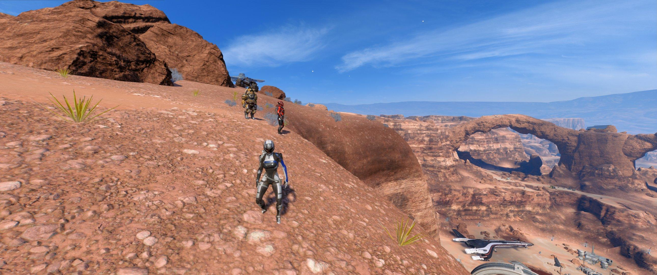 Mass Effect Andromeda - Eos (po lekkim remoncie)