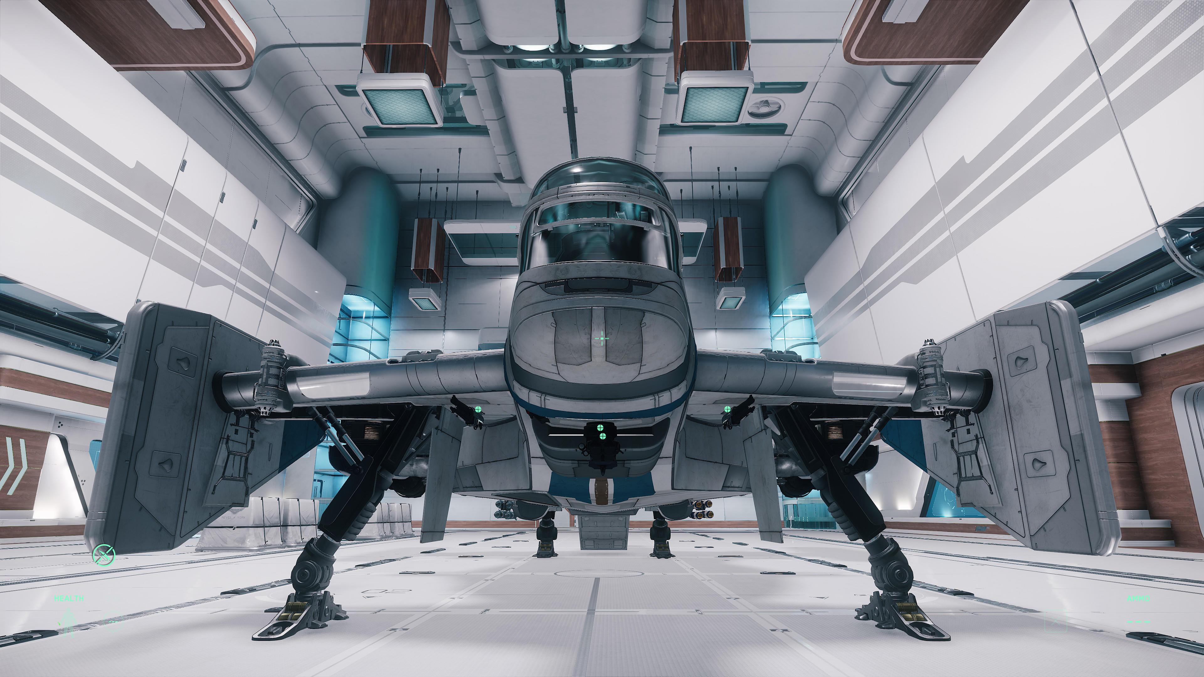 Cutlass Blue Hangar