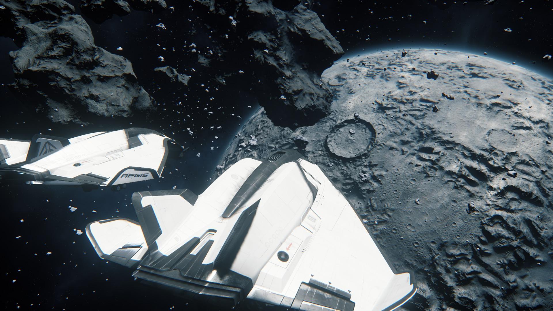 Dwa pingwiny w kosmosie