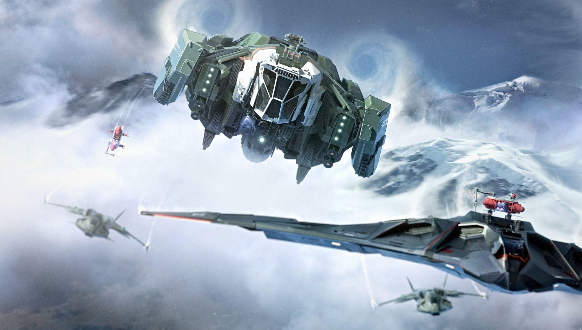 Aegis Vulcan w konfiguracji do tankowania