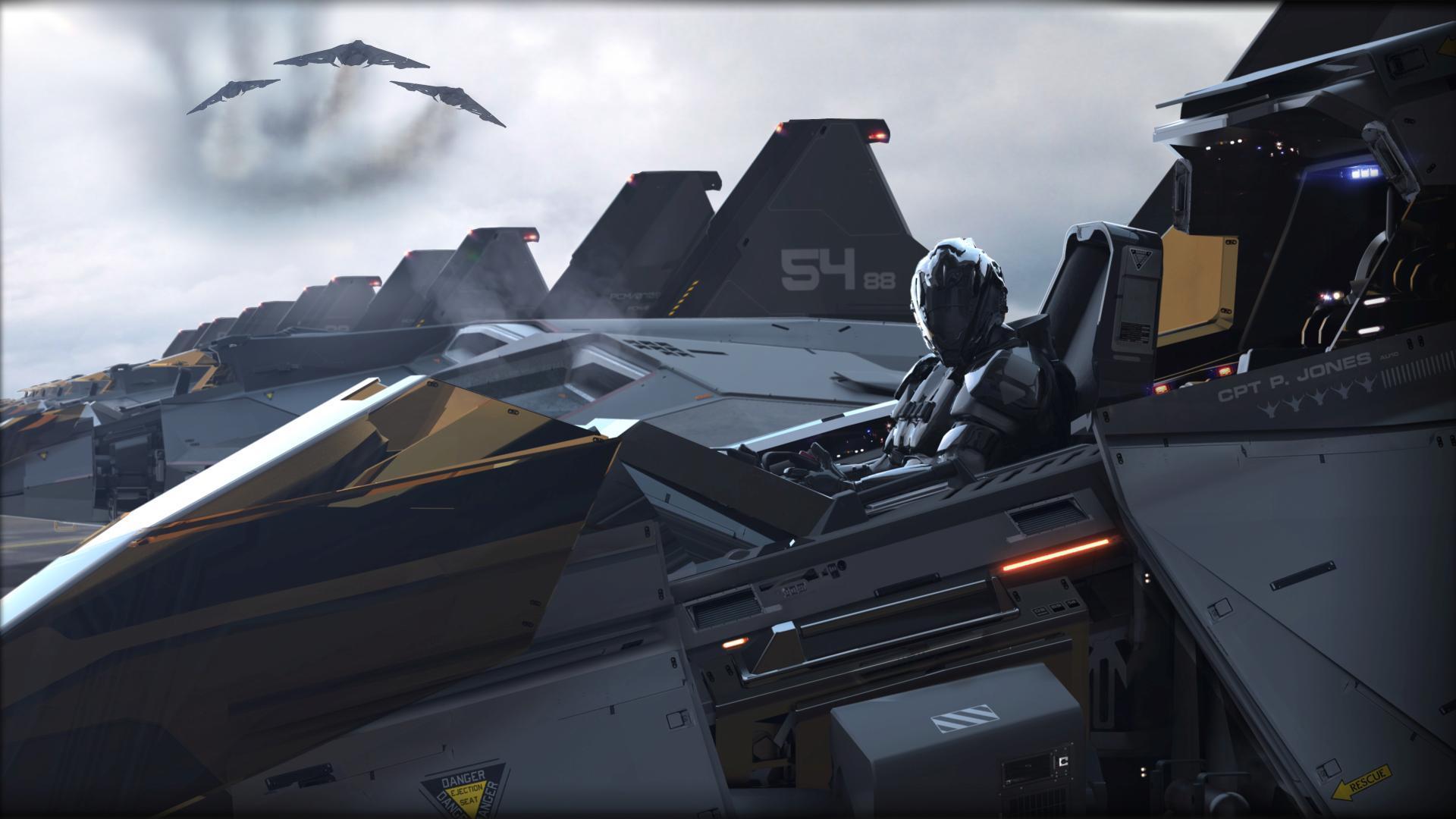 Aegis Eclipse Flightline - Kokpit