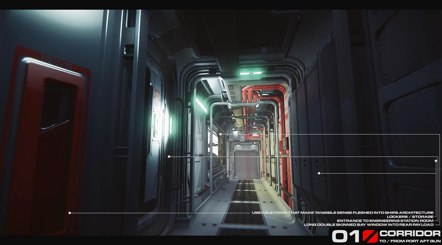 Retaliator - etap greyboxingu