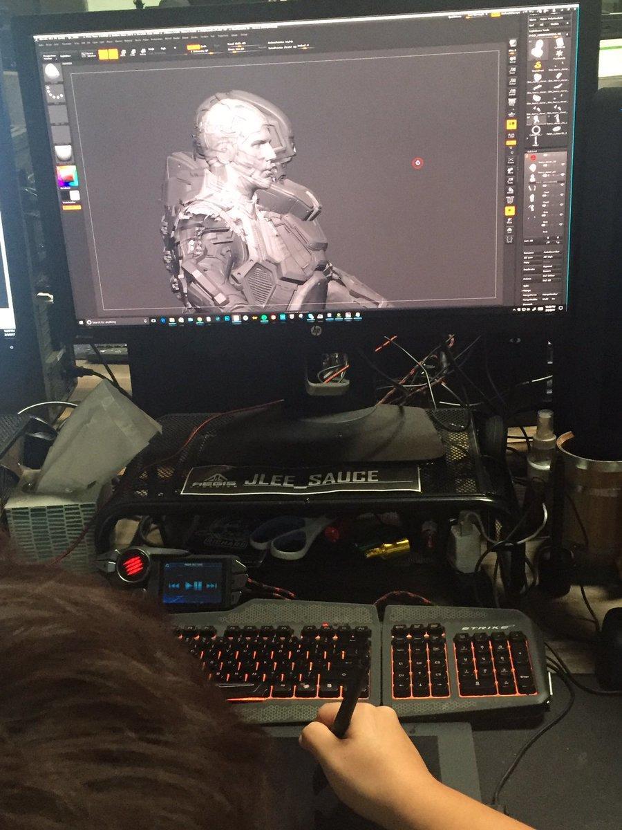 Prace nad pancerzami do Star Marine