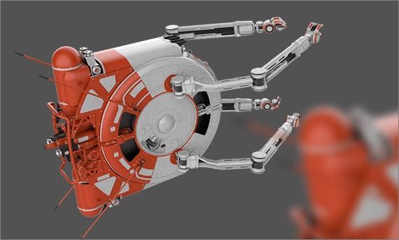 Aegis Vulcan  - dron