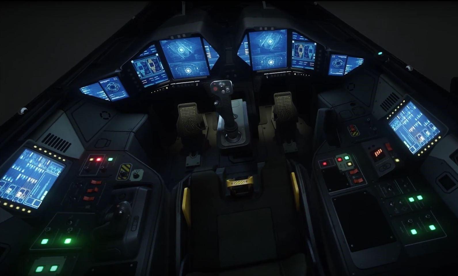 nowy kokpit Horneta