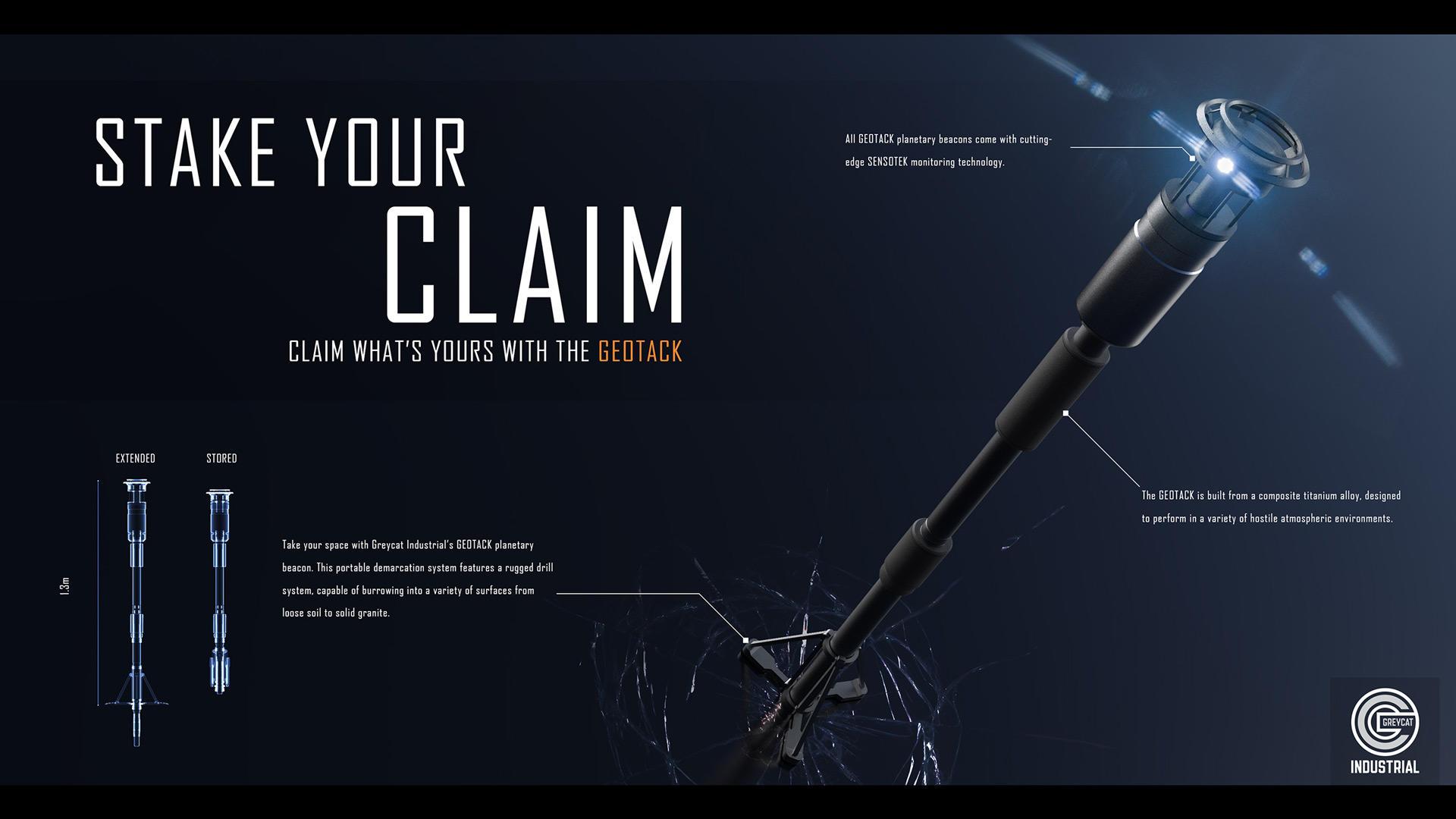 Land Claim Beacon