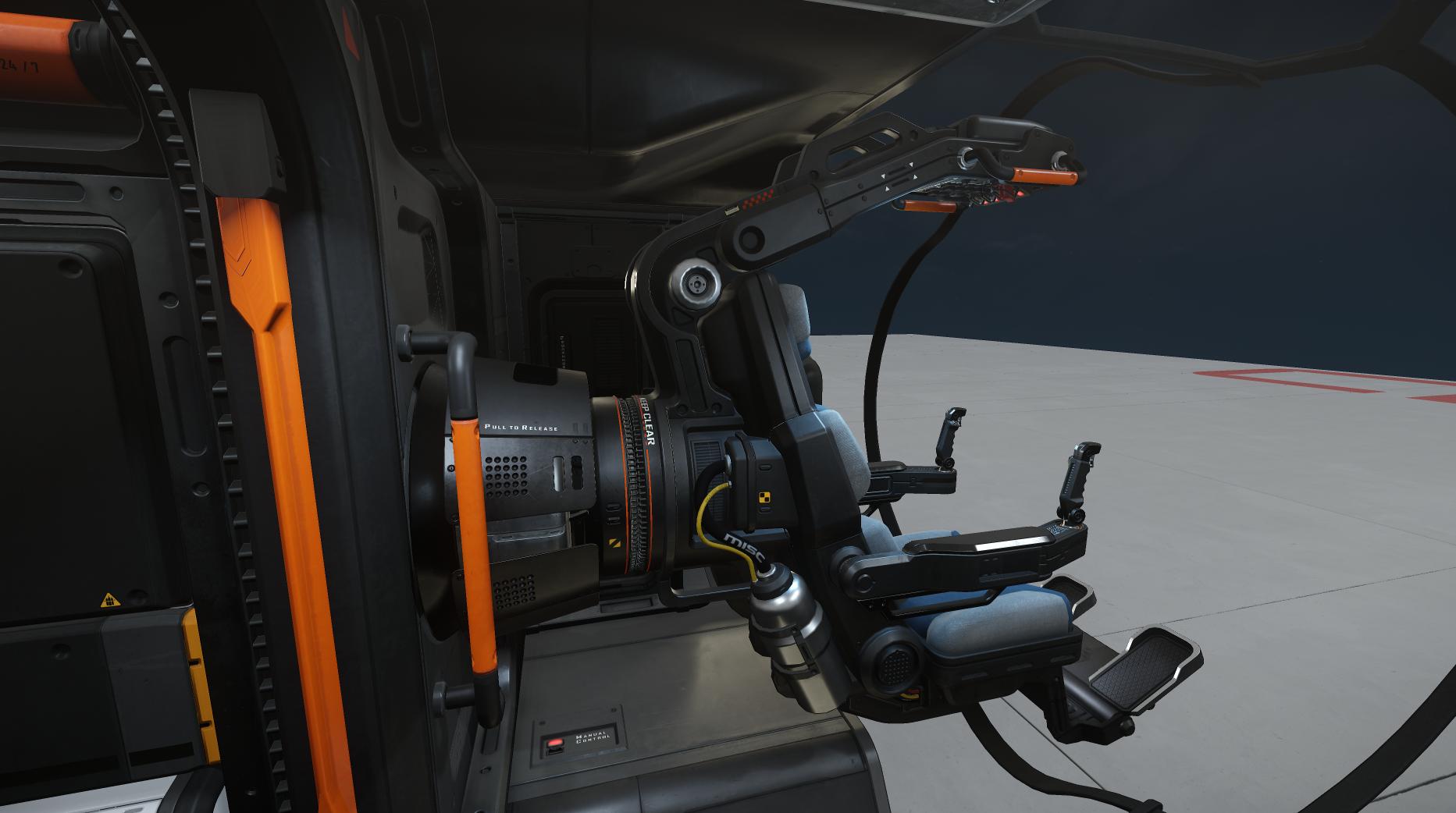 Reliant fotel pilota