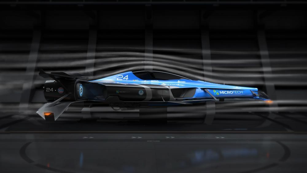 MISC Razor w tunelu aerodynamicznym