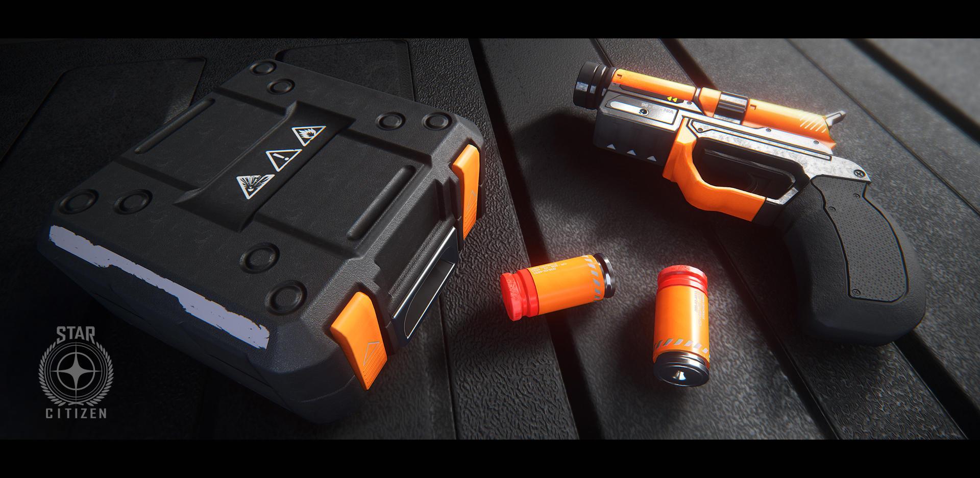 Pistolet do flar