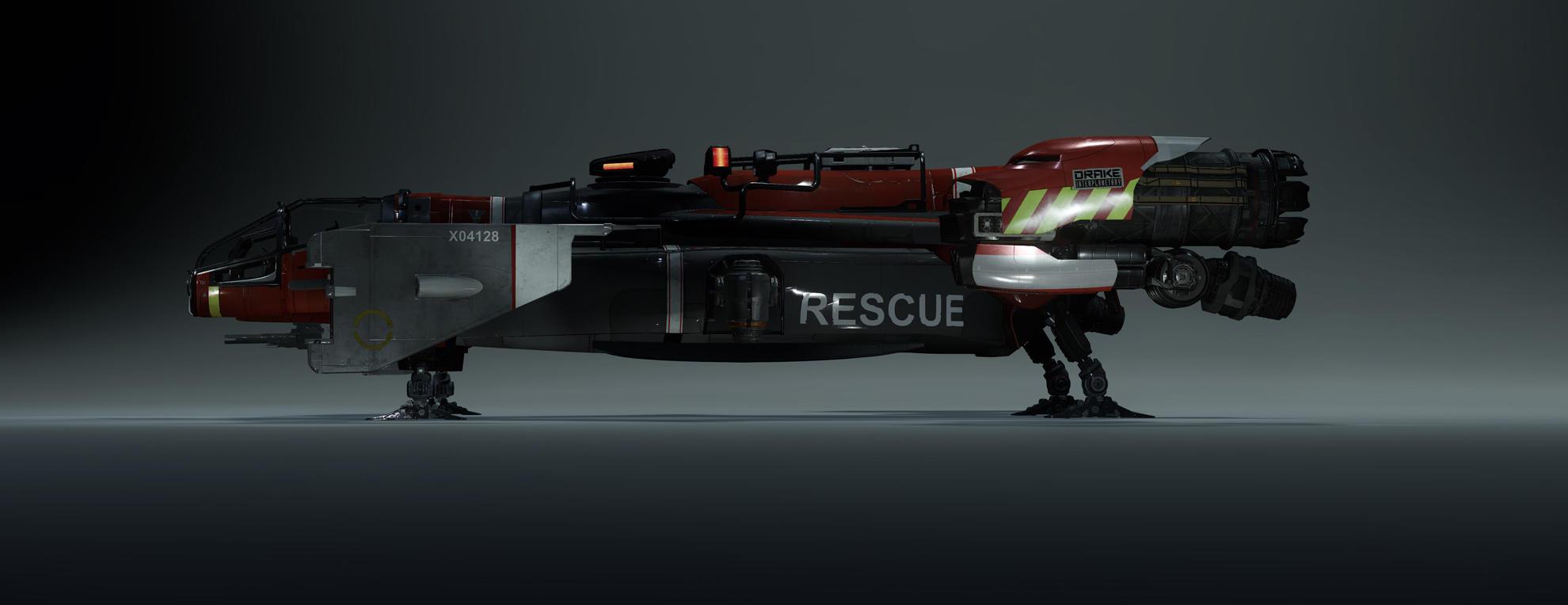 Cutlass Red - widok z boku
