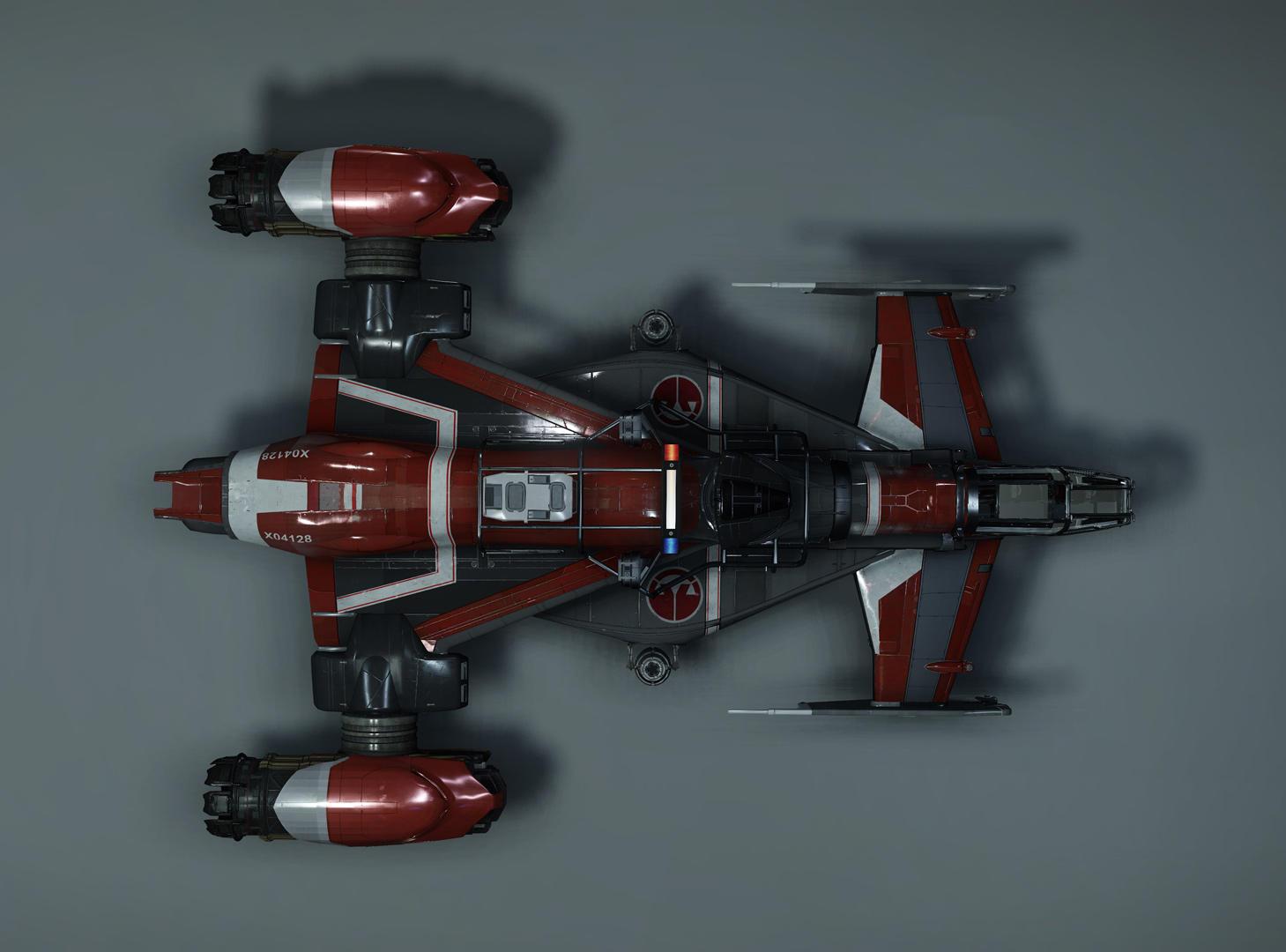 Cutlass Red - widok z góry