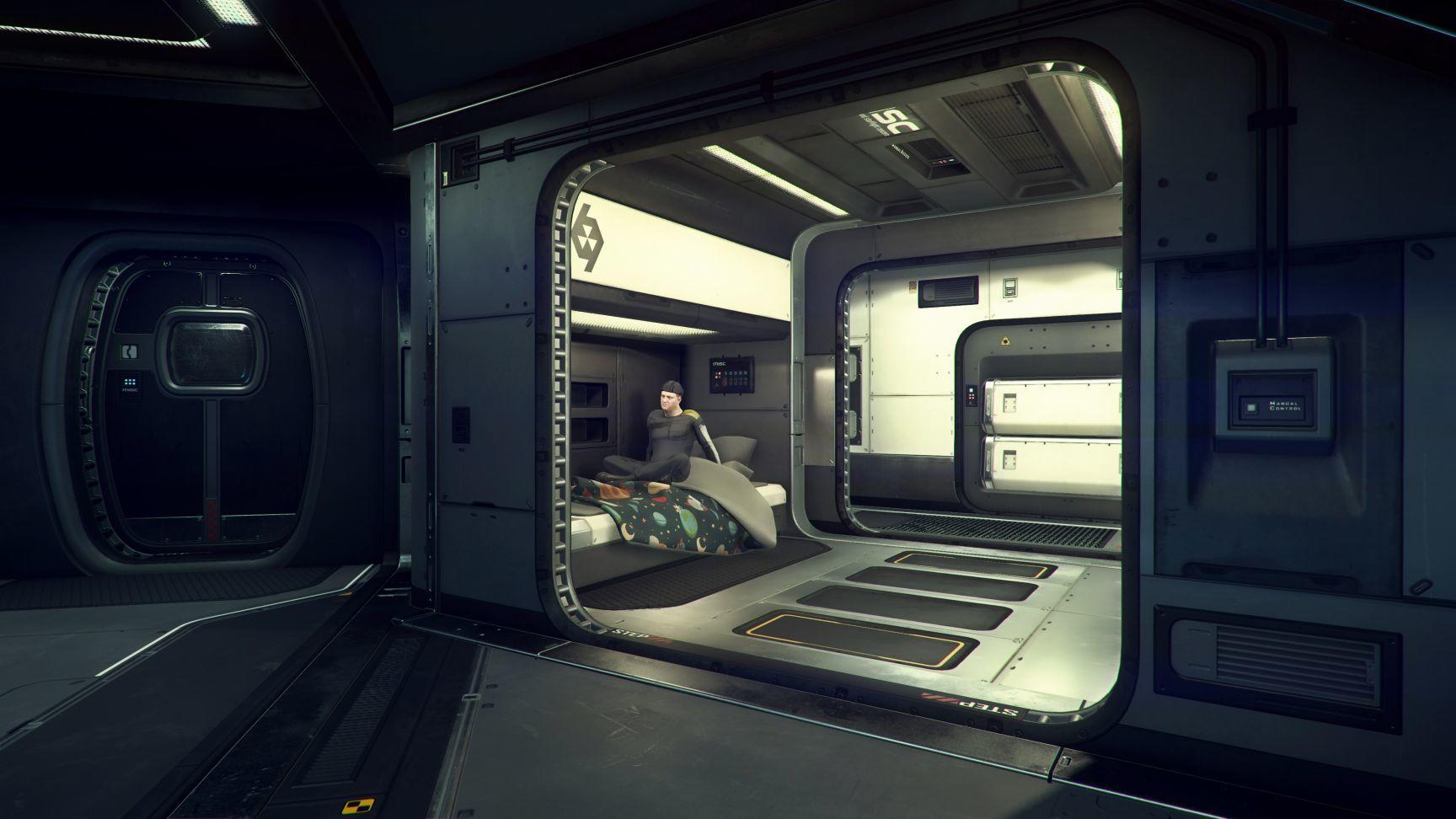 MISC Starfarer - kajuta kapitana