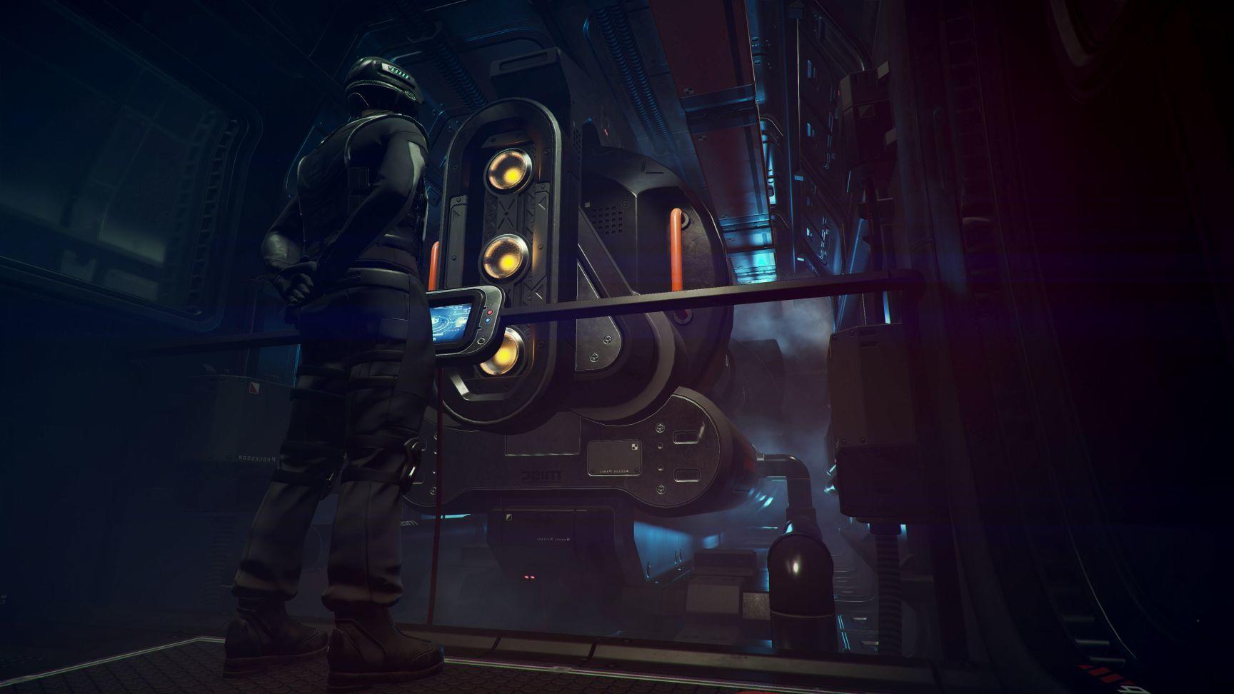 MISC Starfarer - maszynownia