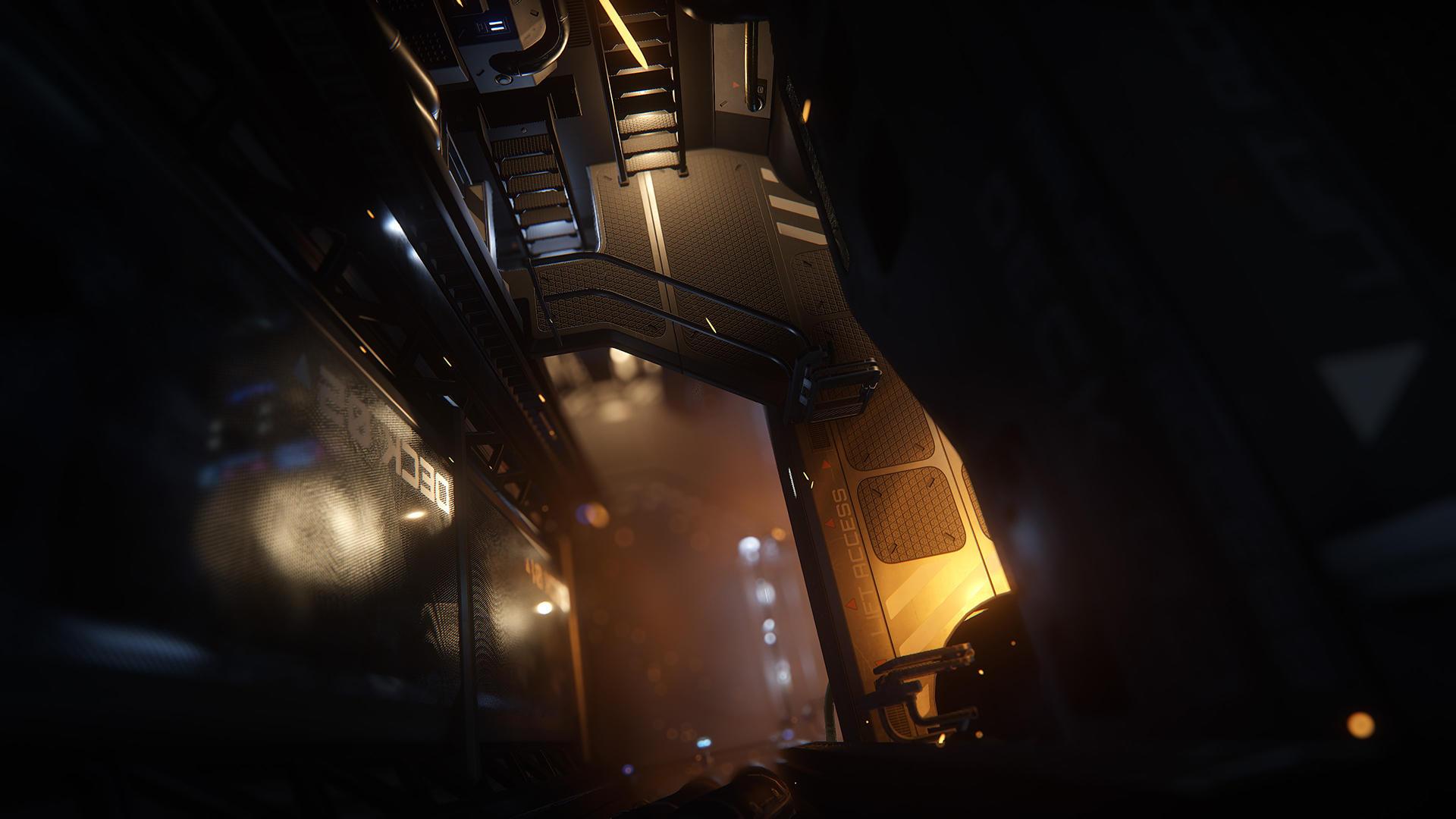 Hull-C wnętrze