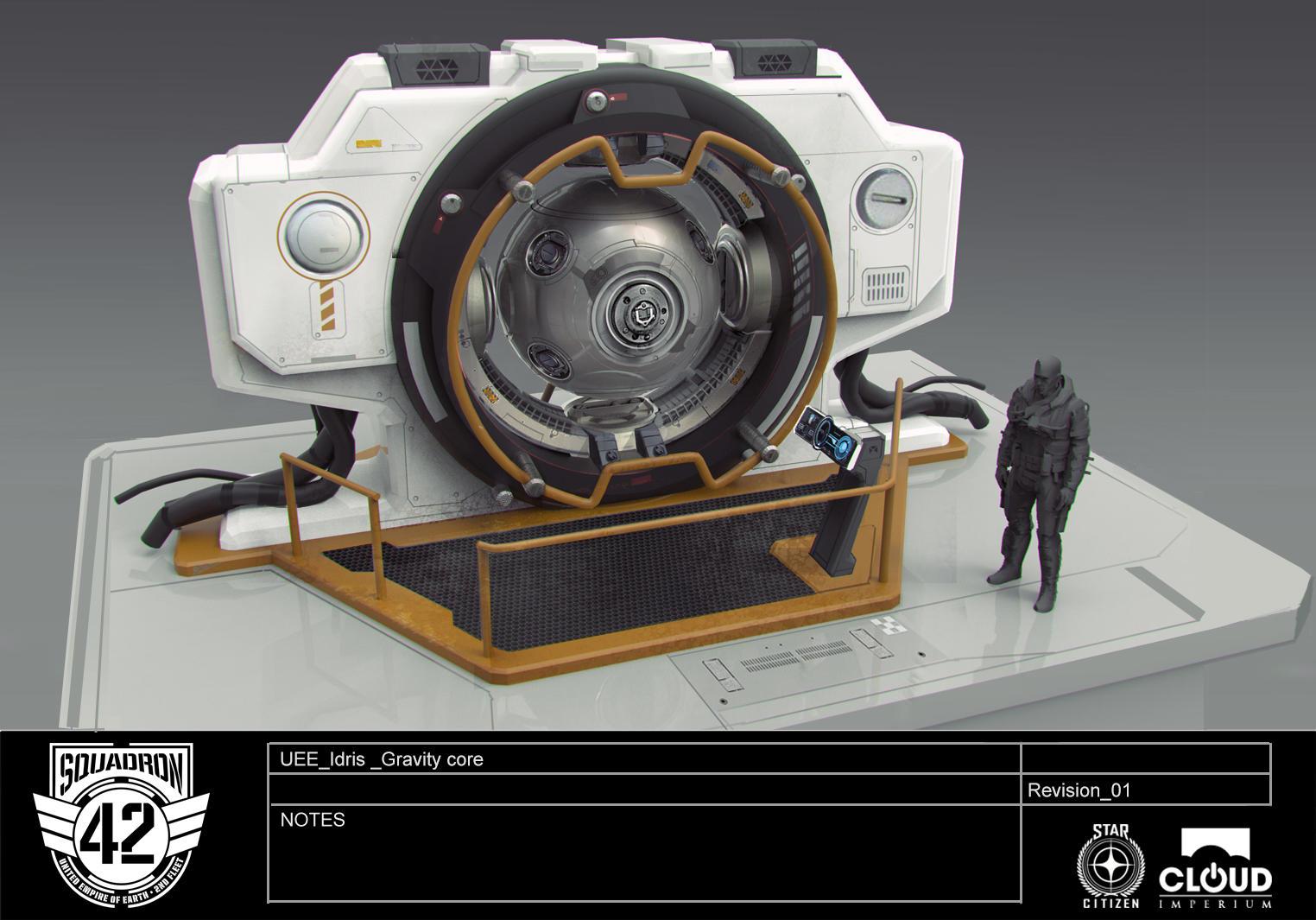 Idris Gravity core