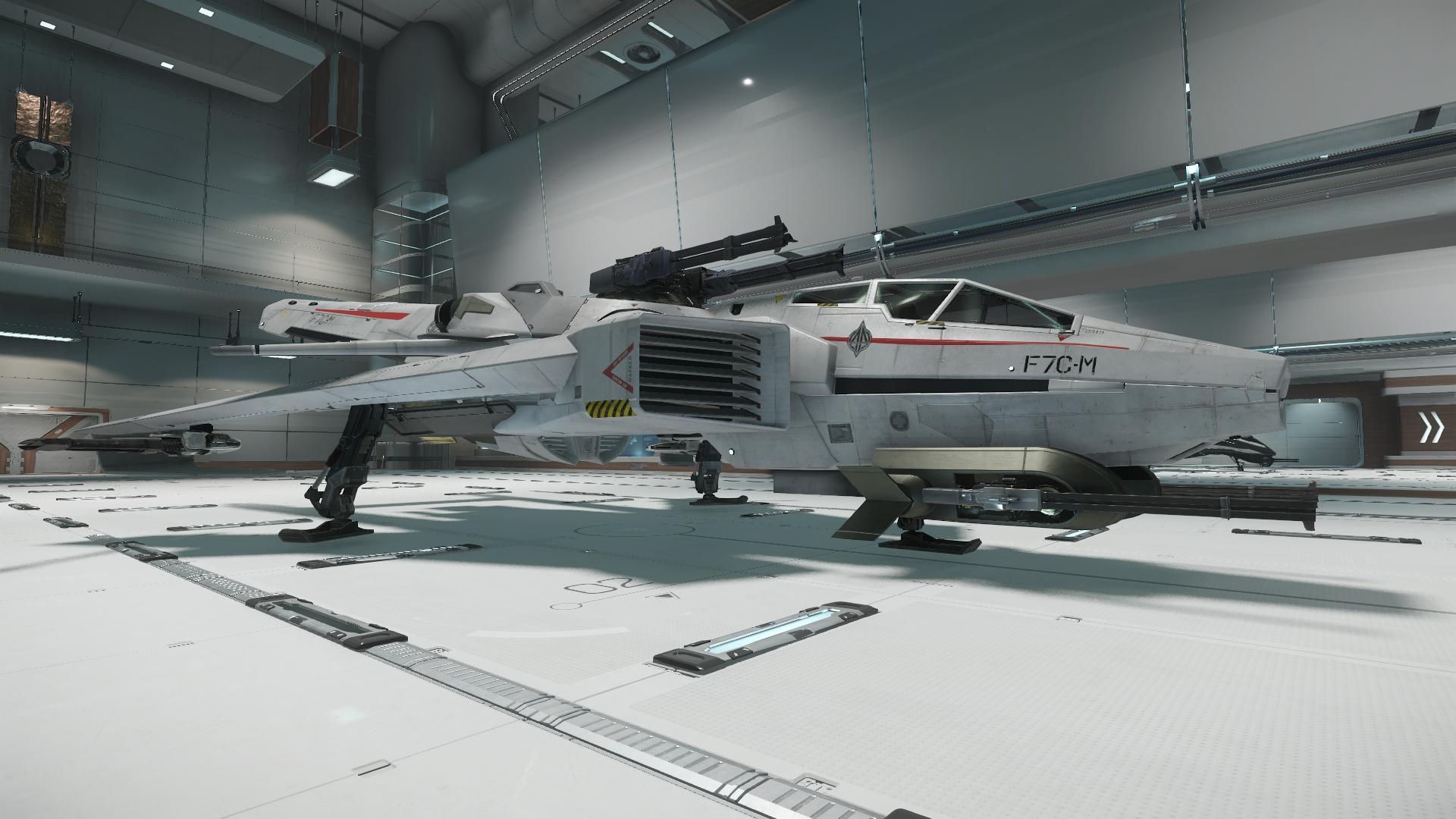 Super Hornet widok z boku 1