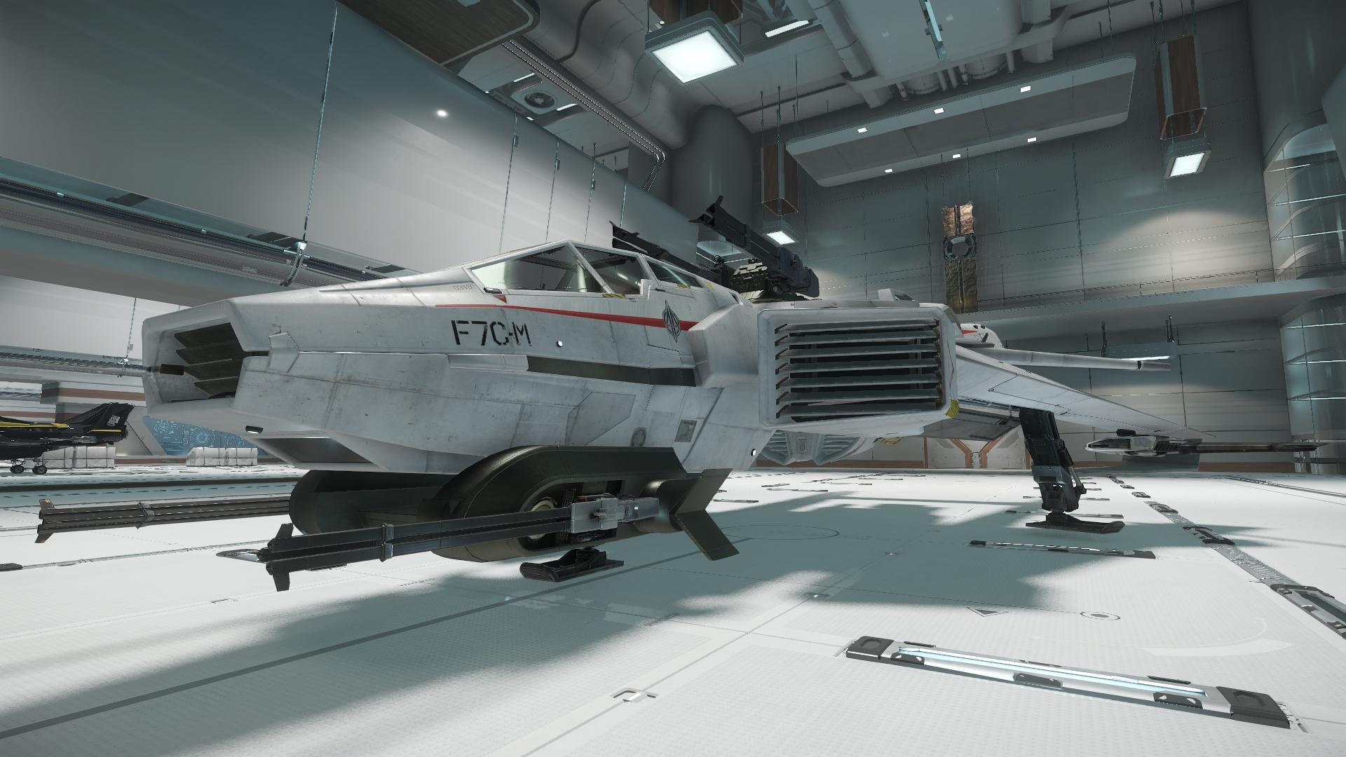 Super Hornet widok z boku 2