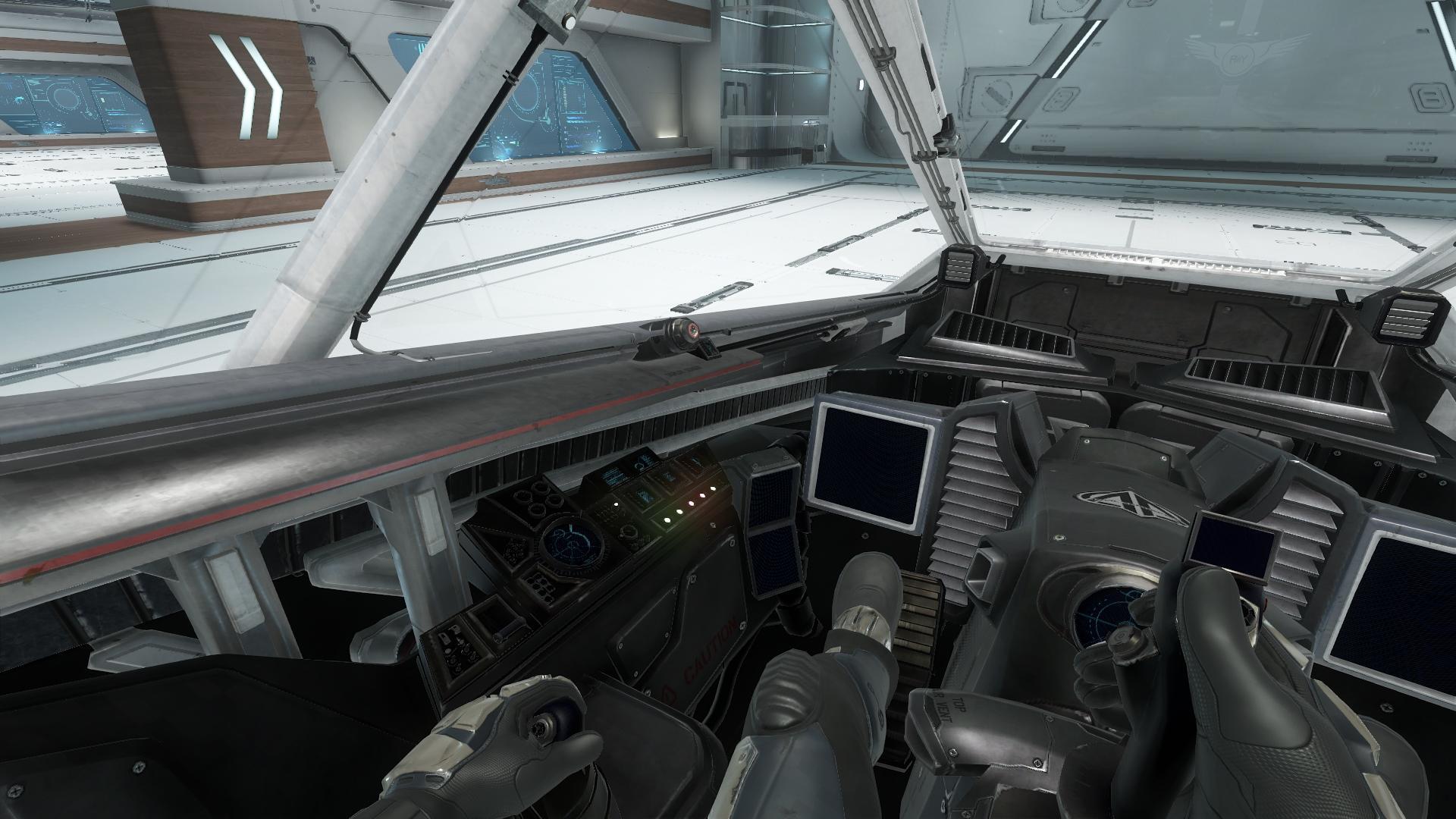 Super Hornet widok z wnętrza kokpitu 1