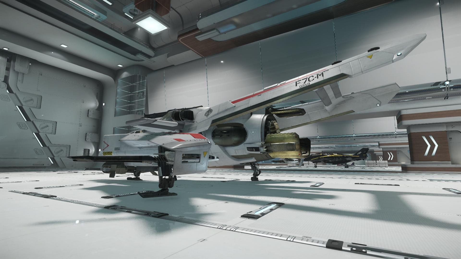 Super Hornet widok z boku 3