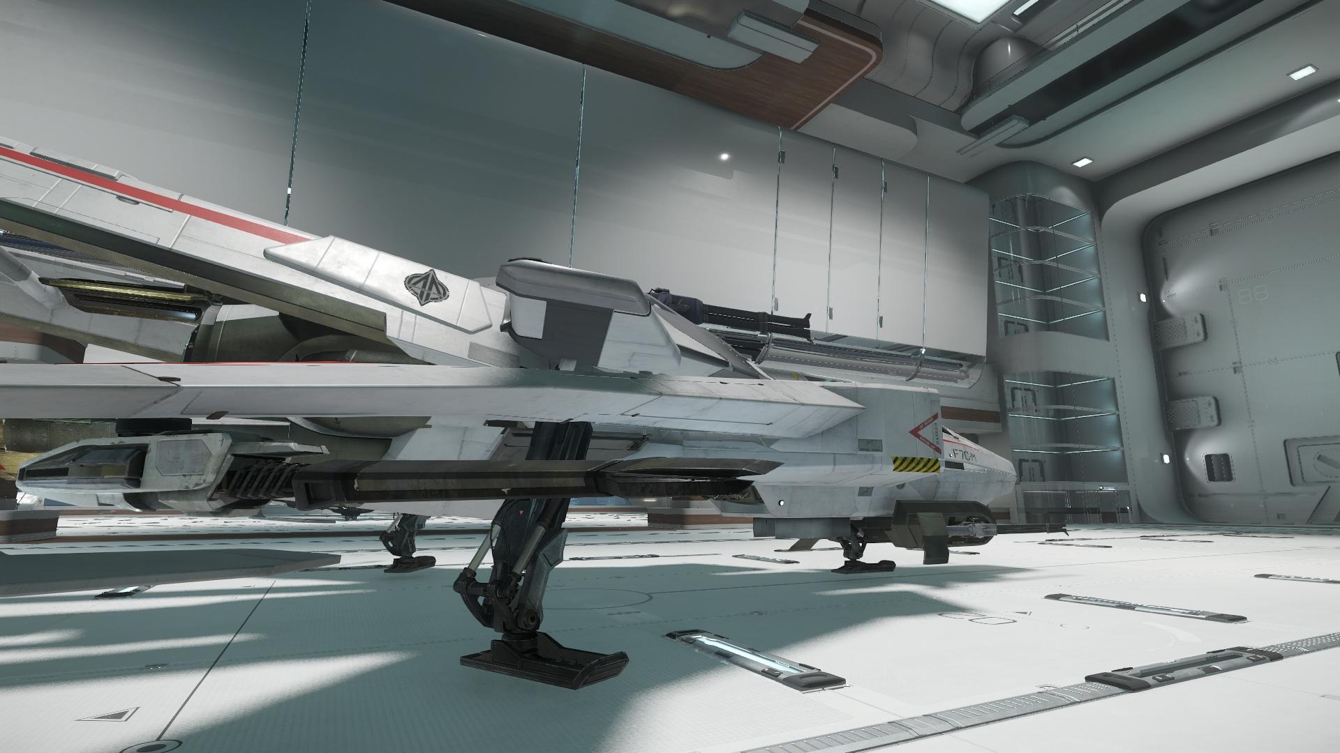 Super Hornet widok z boku 4
