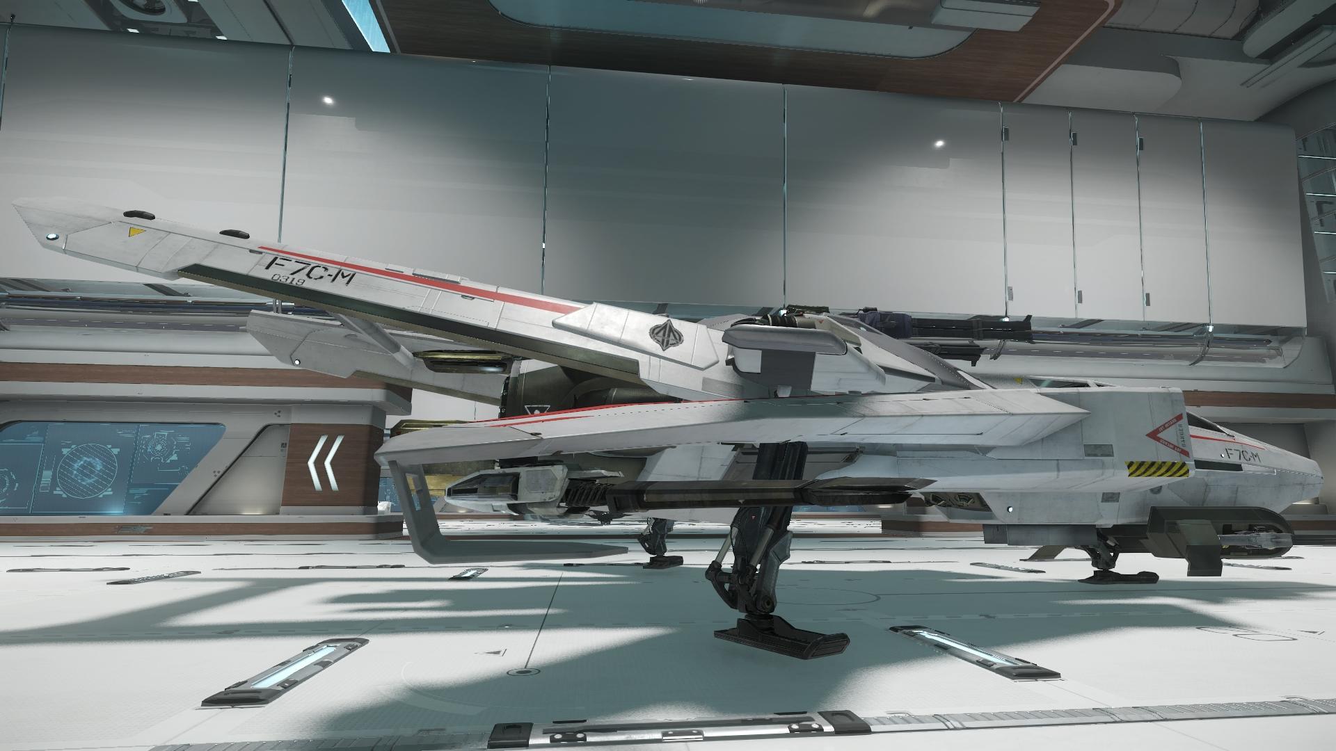 Super Hornet widok z boku 6