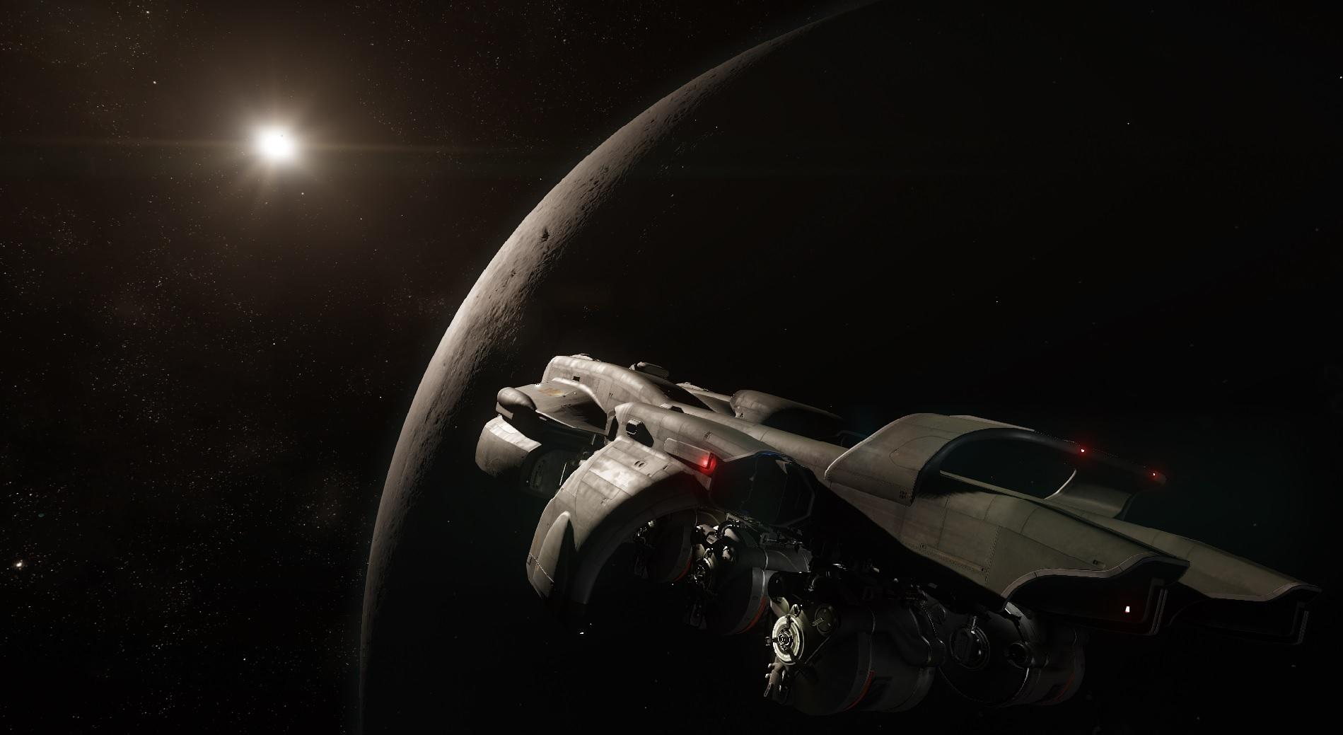 Starfarer Gemini w locie