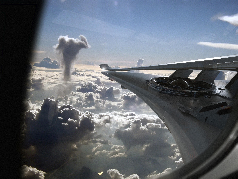 Crusader Industries Starliner widok z kabiny pasażerskiej