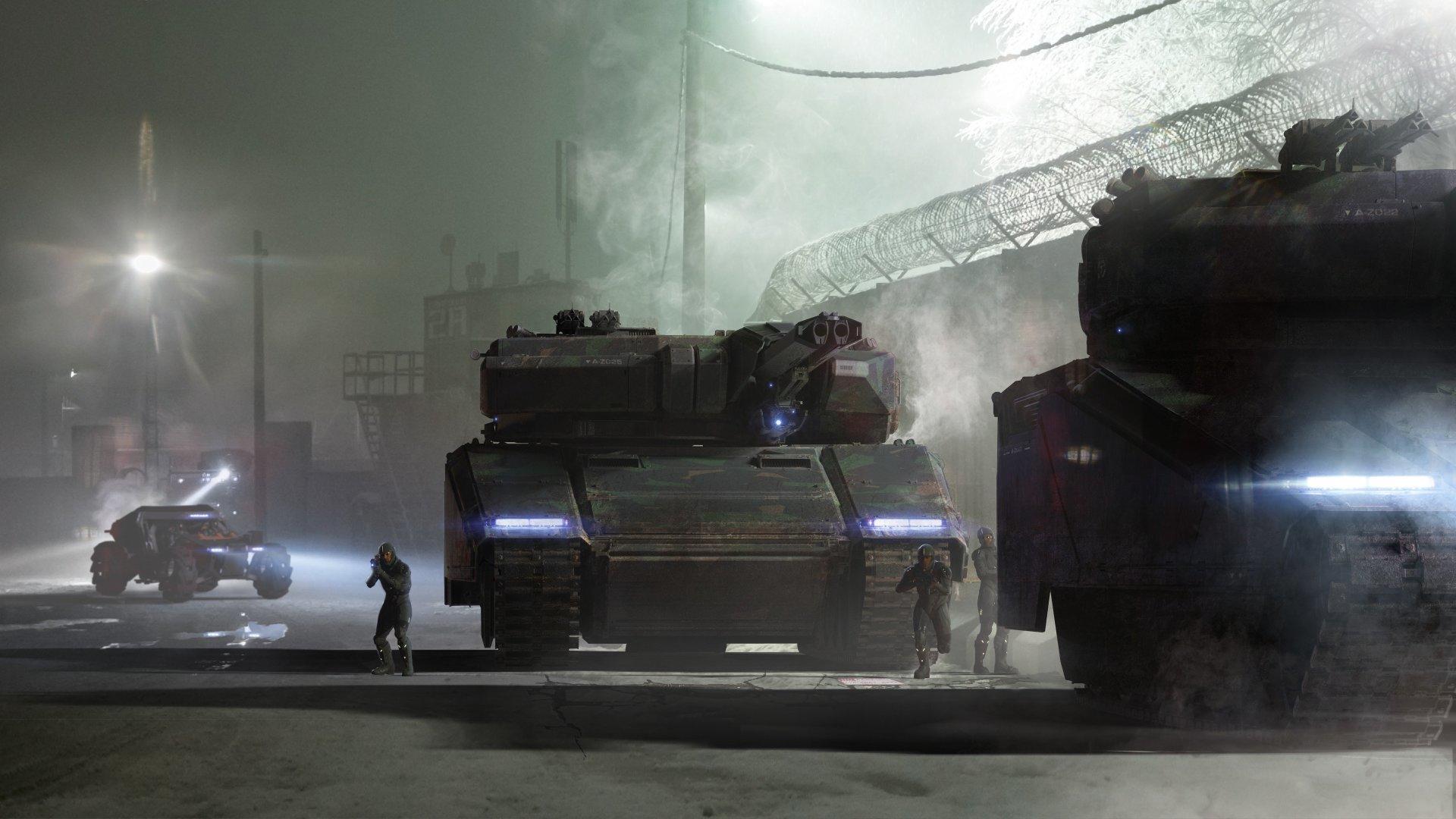 Ciężki czołg Tumbril Nova