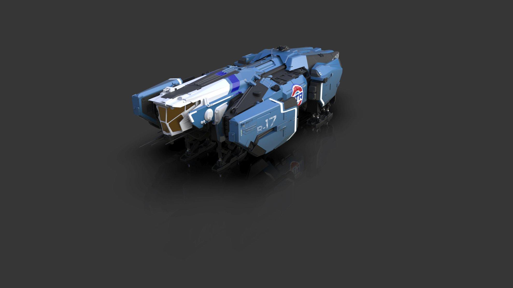 Vulcan - warianty kolorystyczne - niebieski