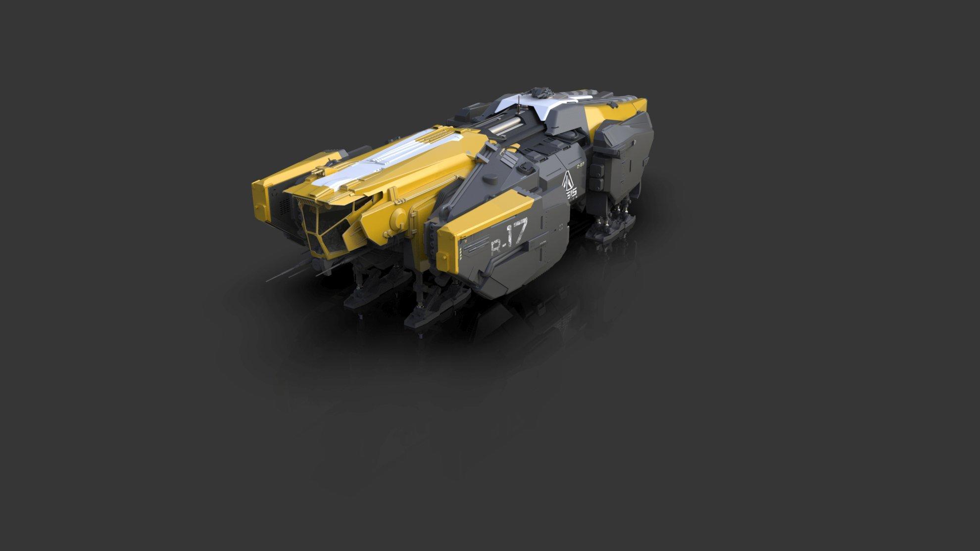 Vulcan - warianty kolorystyczne - żółty