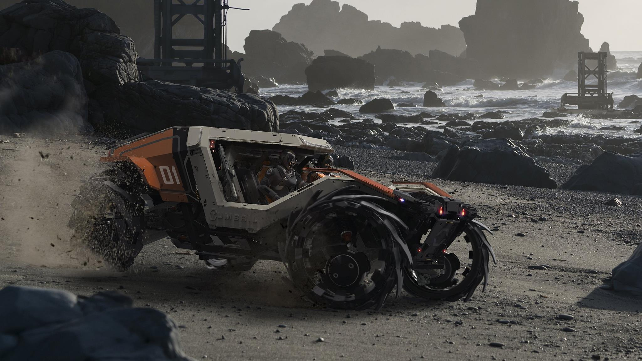 Wyścigowy Tumbril Cyclone
