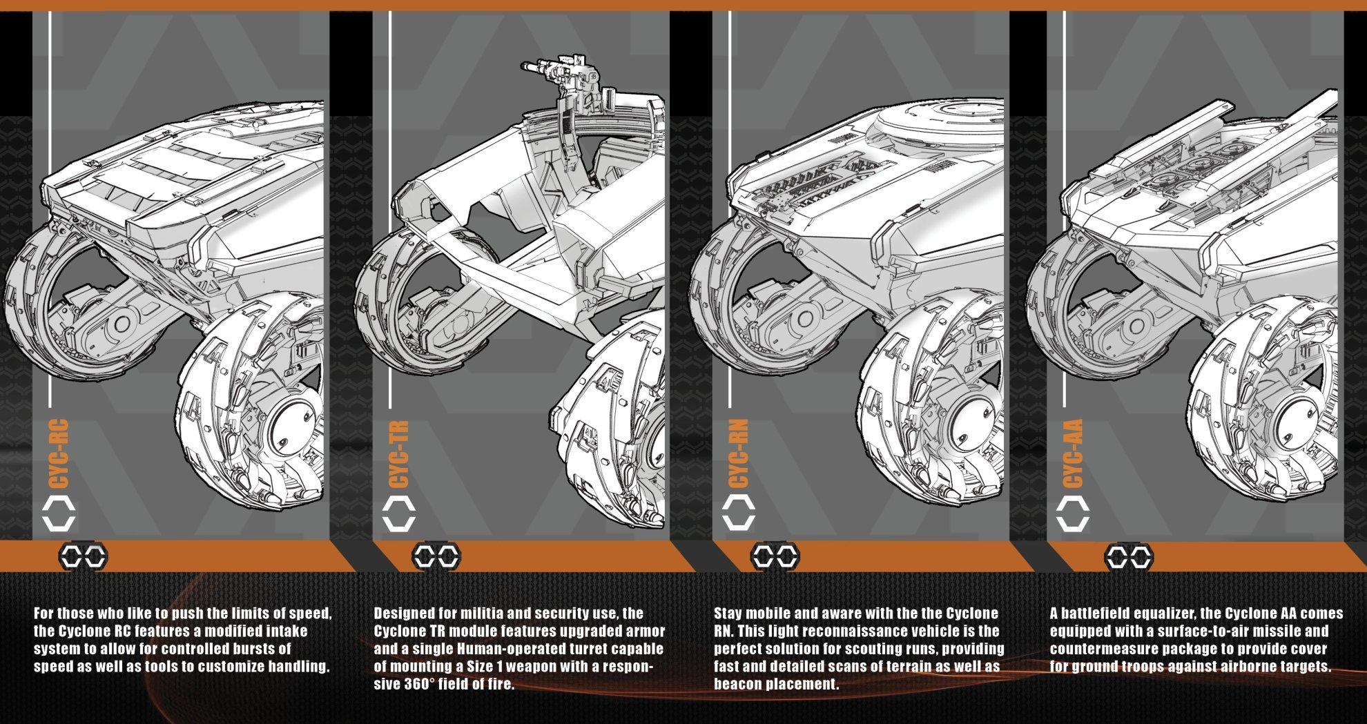 Tumbril Cyclone - broszura informacyjna