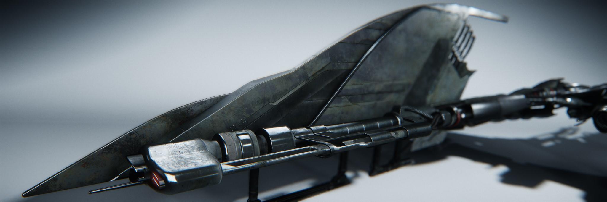 Vanduul Scythe - uzbrojenie