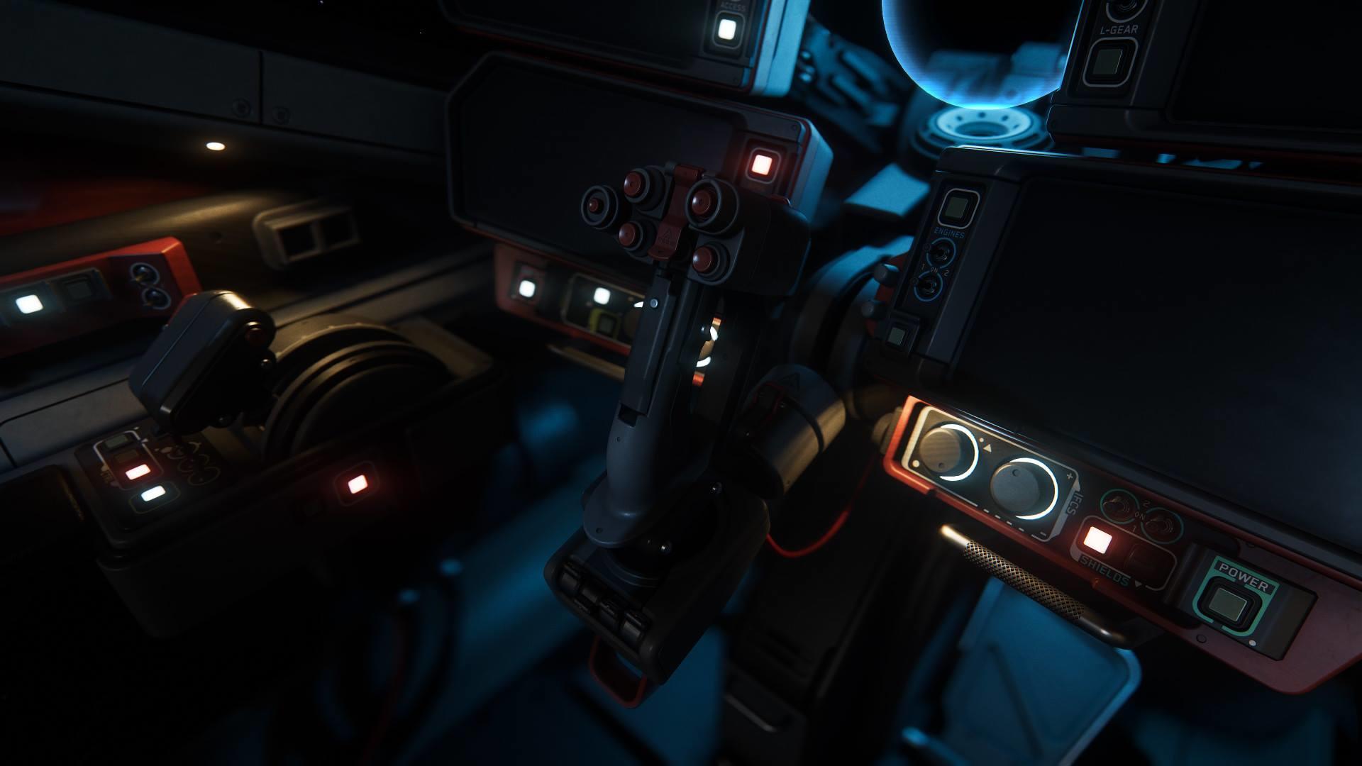Aegis Vanguard - kokpit