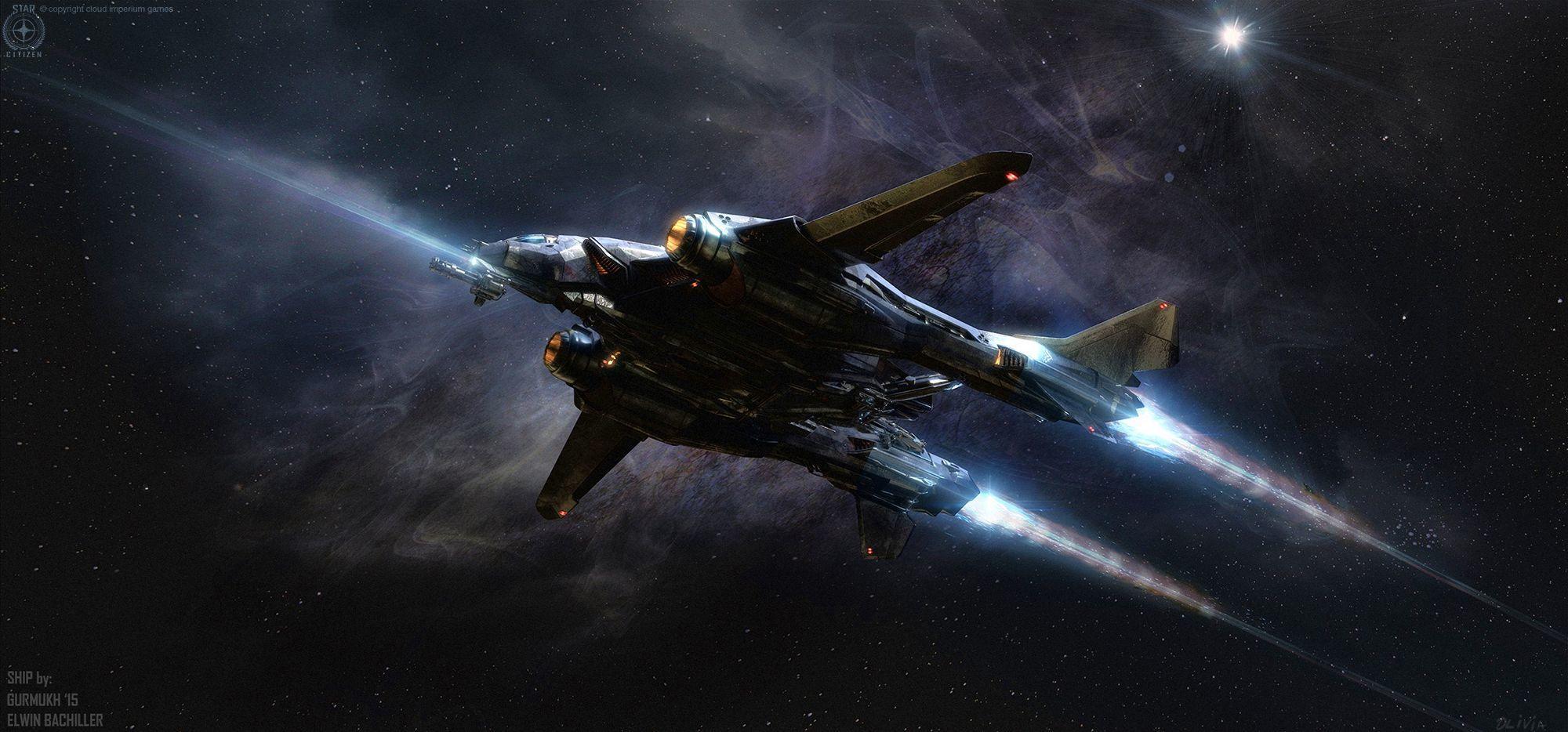 Aegis Vanguard w głębokim kosmosie